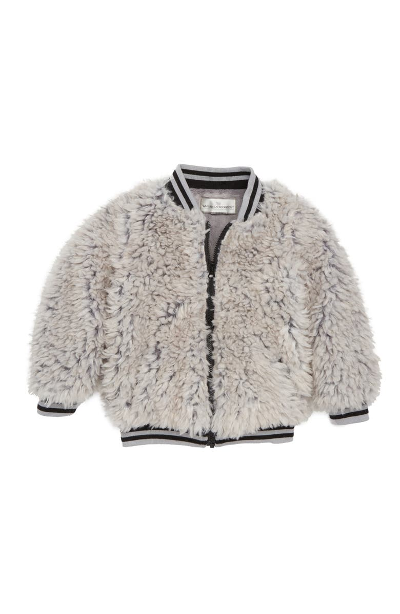 51c307ad952f Widgeon Happy Lil Faux Fur Varsity Jacket (Toddler Girls