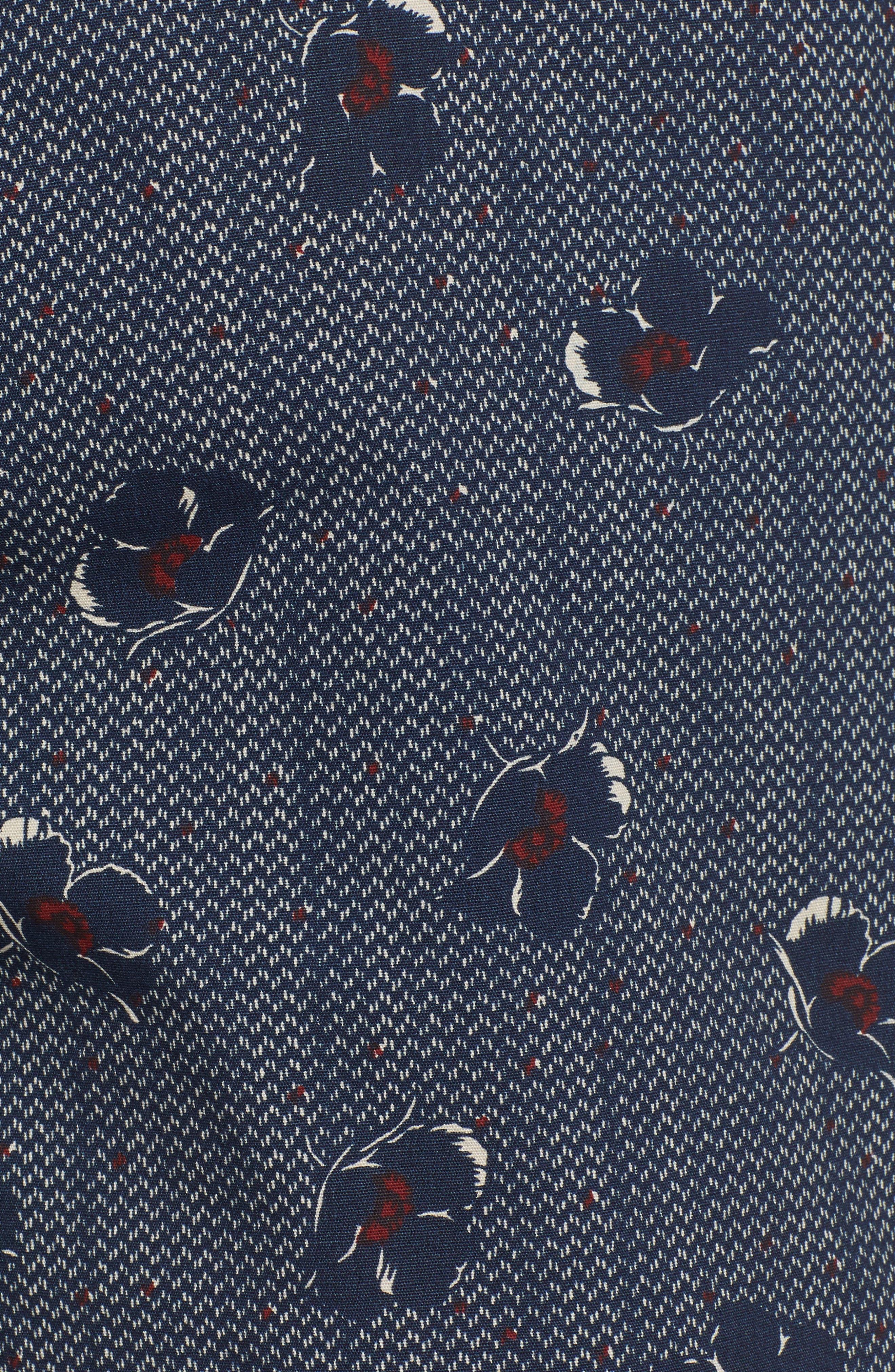 RVCA, Newton Hybrid Shorts, Alternate thumbnail 5, color, NAVY
