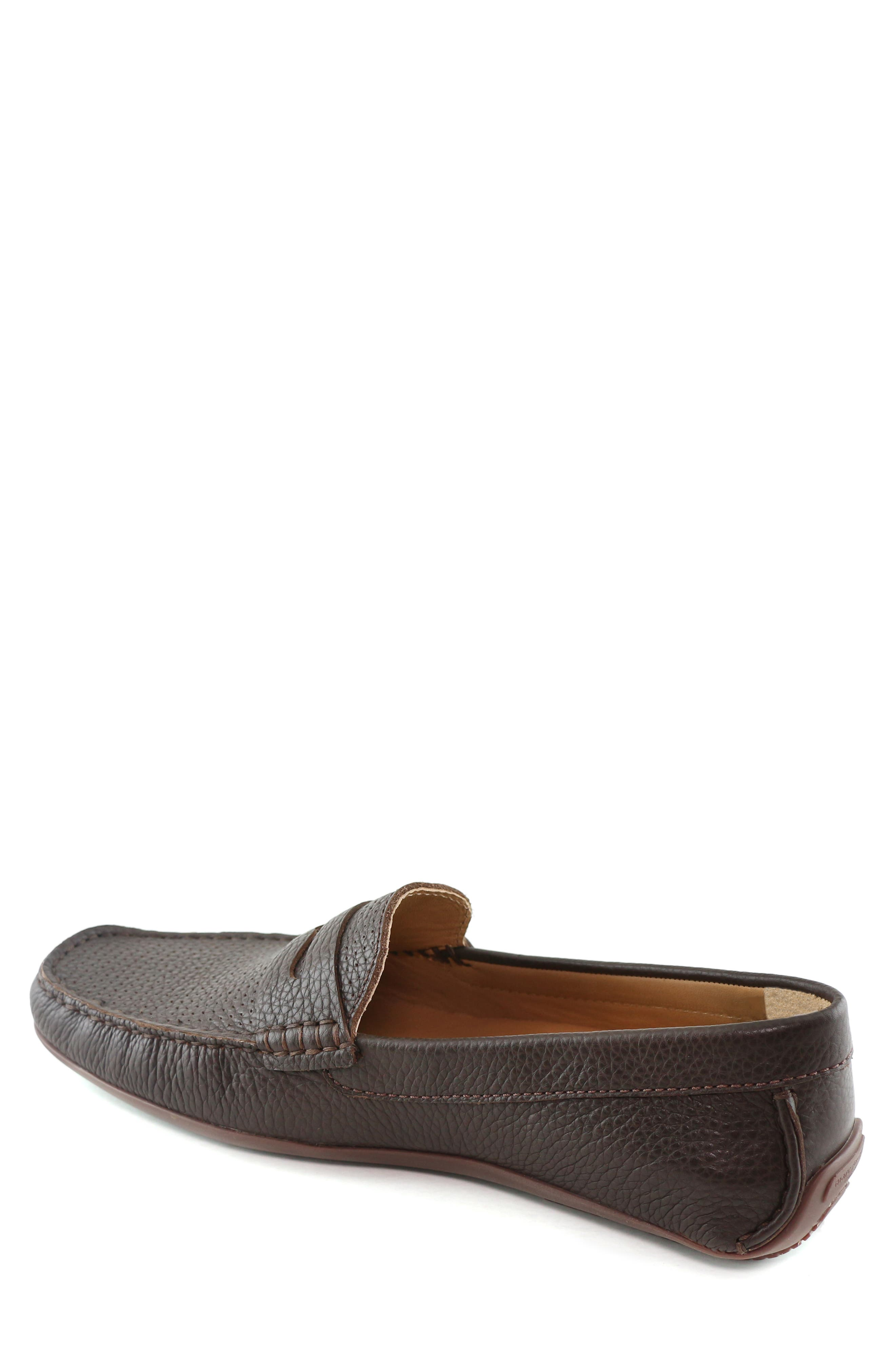 MARC JOSEPH NEW YORK, 'Union Street' Penny Loafer, Alternate thumbnail 2, color, BROWN GRAINY LEATHER