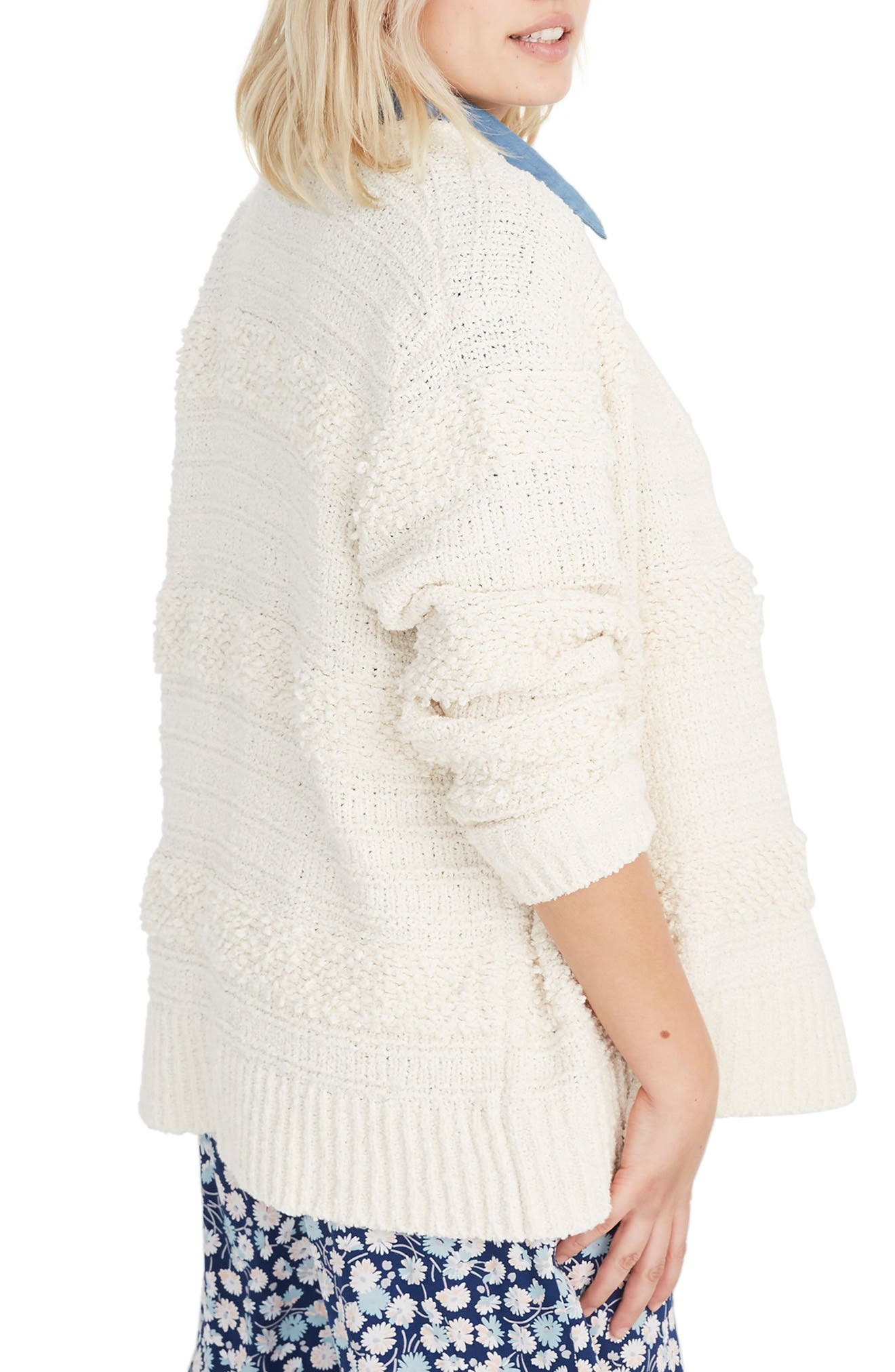 MADEWELL, Bronson Cardigan, Alternate thumbnail 7, color, 900