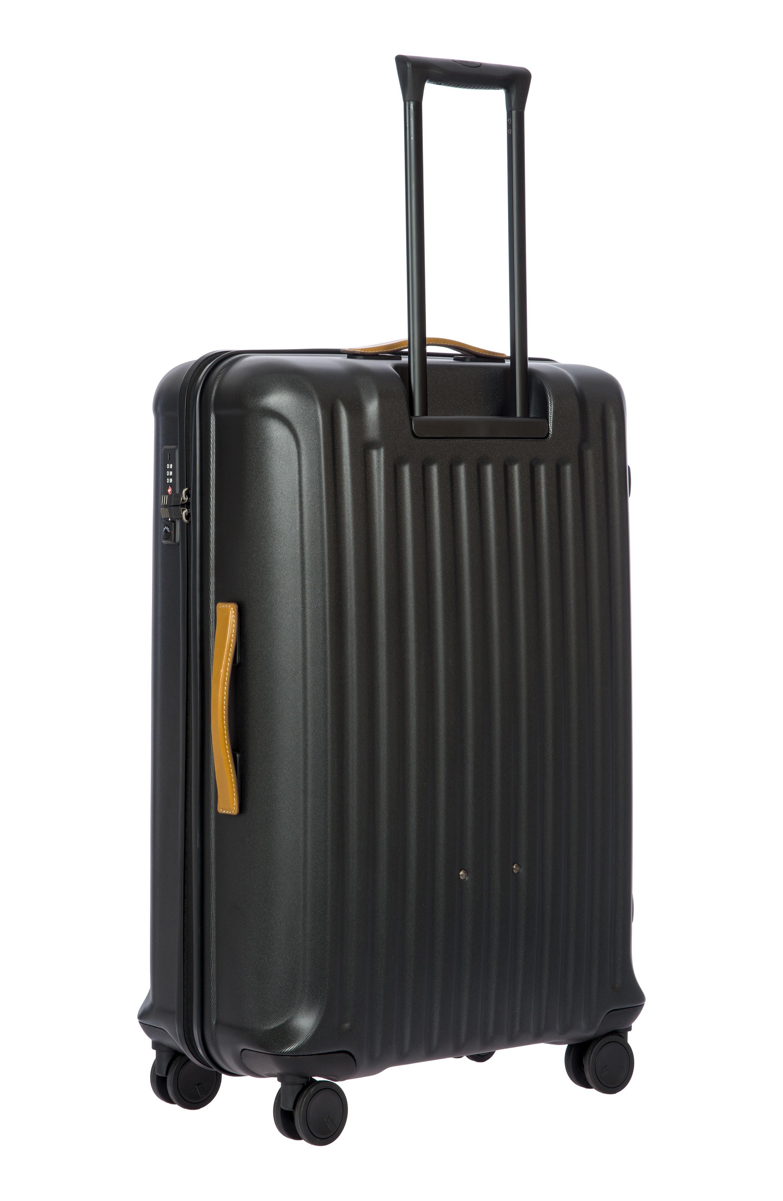 BRIC'S, Capri 32-Inch Spinner Suitcase, Alternate thumbnail 4, color, MATTE BLACK
