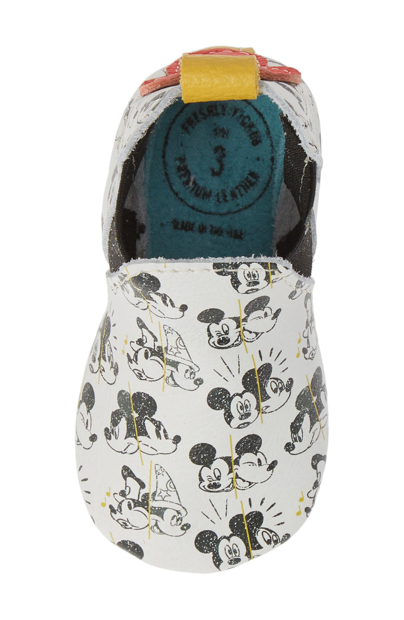 FRESHLY PICKED, x Disney Mickey Through the Years Bootie, Alternate thumbnail 5, color, MICKEY THROUGH THE YEARS