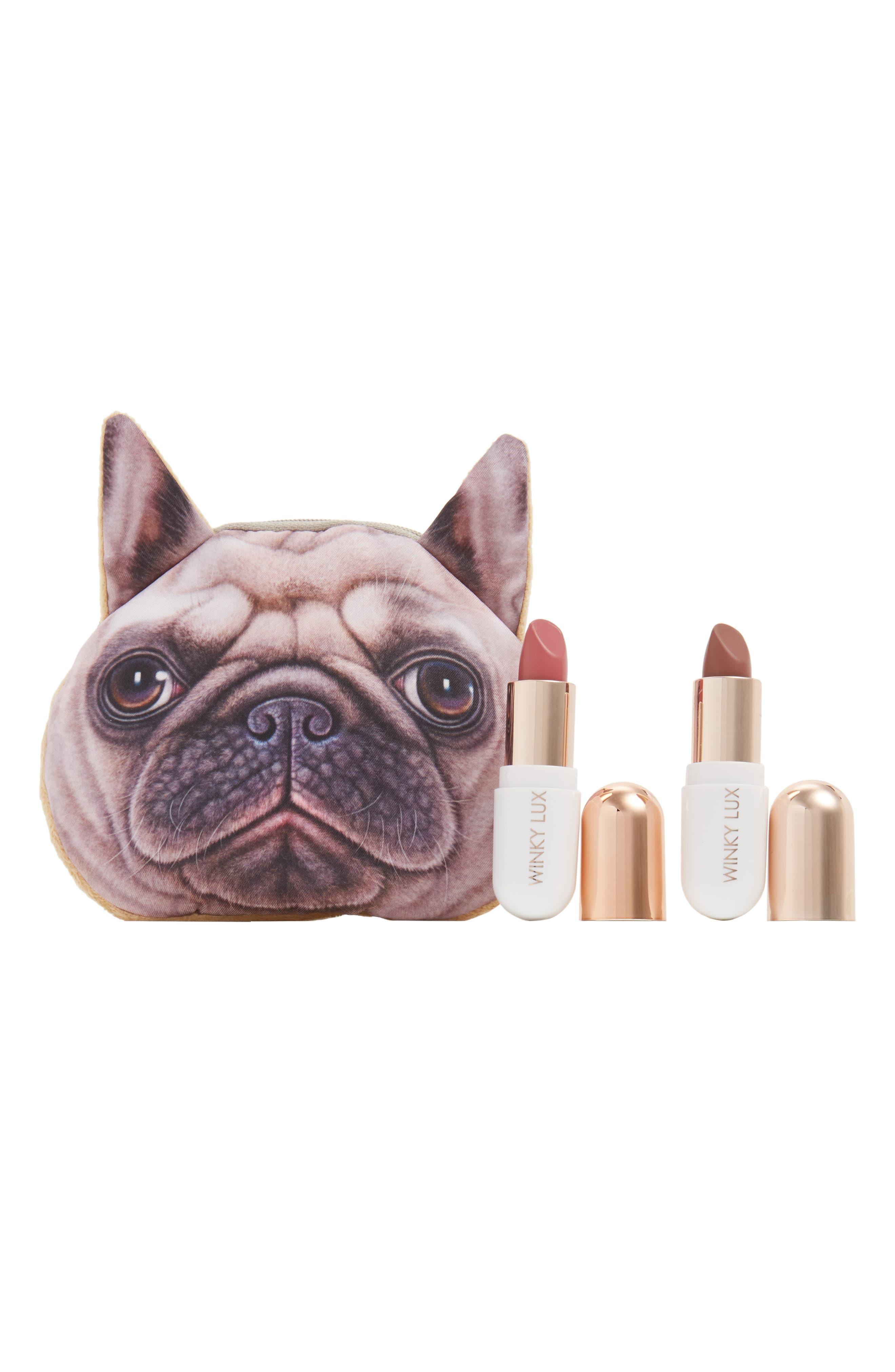 WINKY LUX Pug Lip Kit, Main, color, NO COLOR