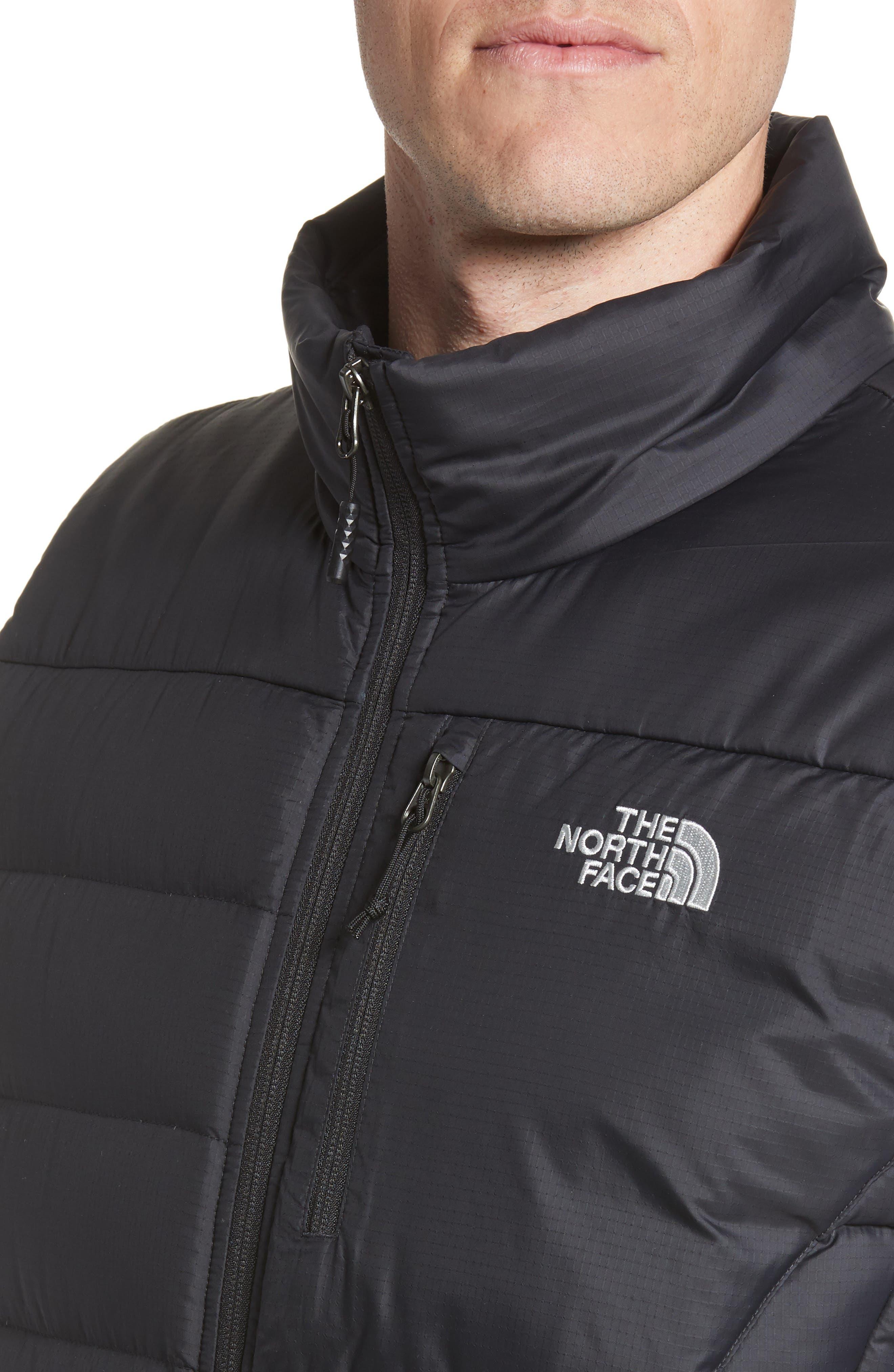 THE NORTH FACE, 'Aconcagua' Goose Down Vest, Alternate thumbnail 6, color, 001