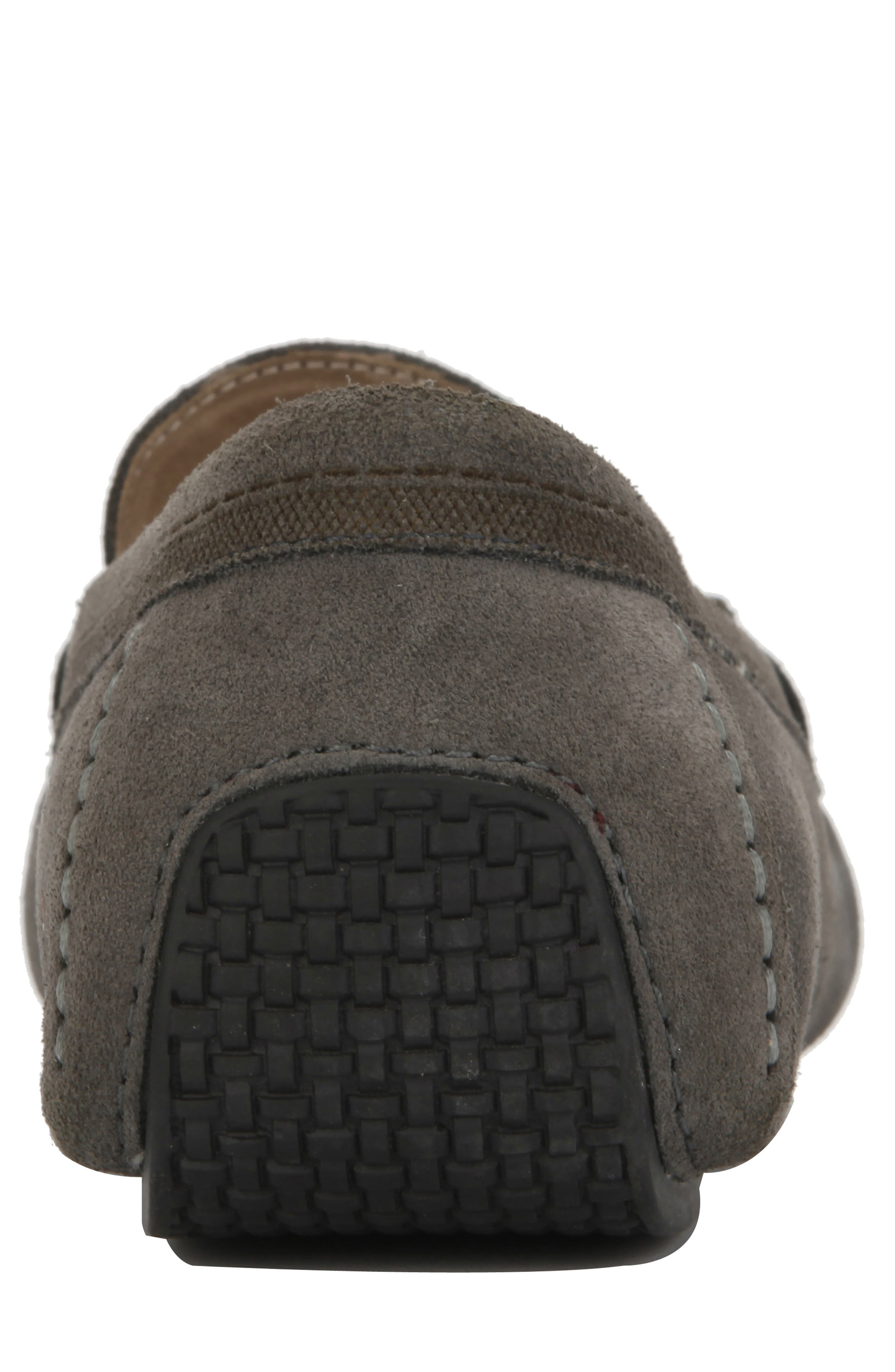 REACTION KENNETH COLE, Sound Driving Shoe, Alternate thumbnail 5, color, GREY