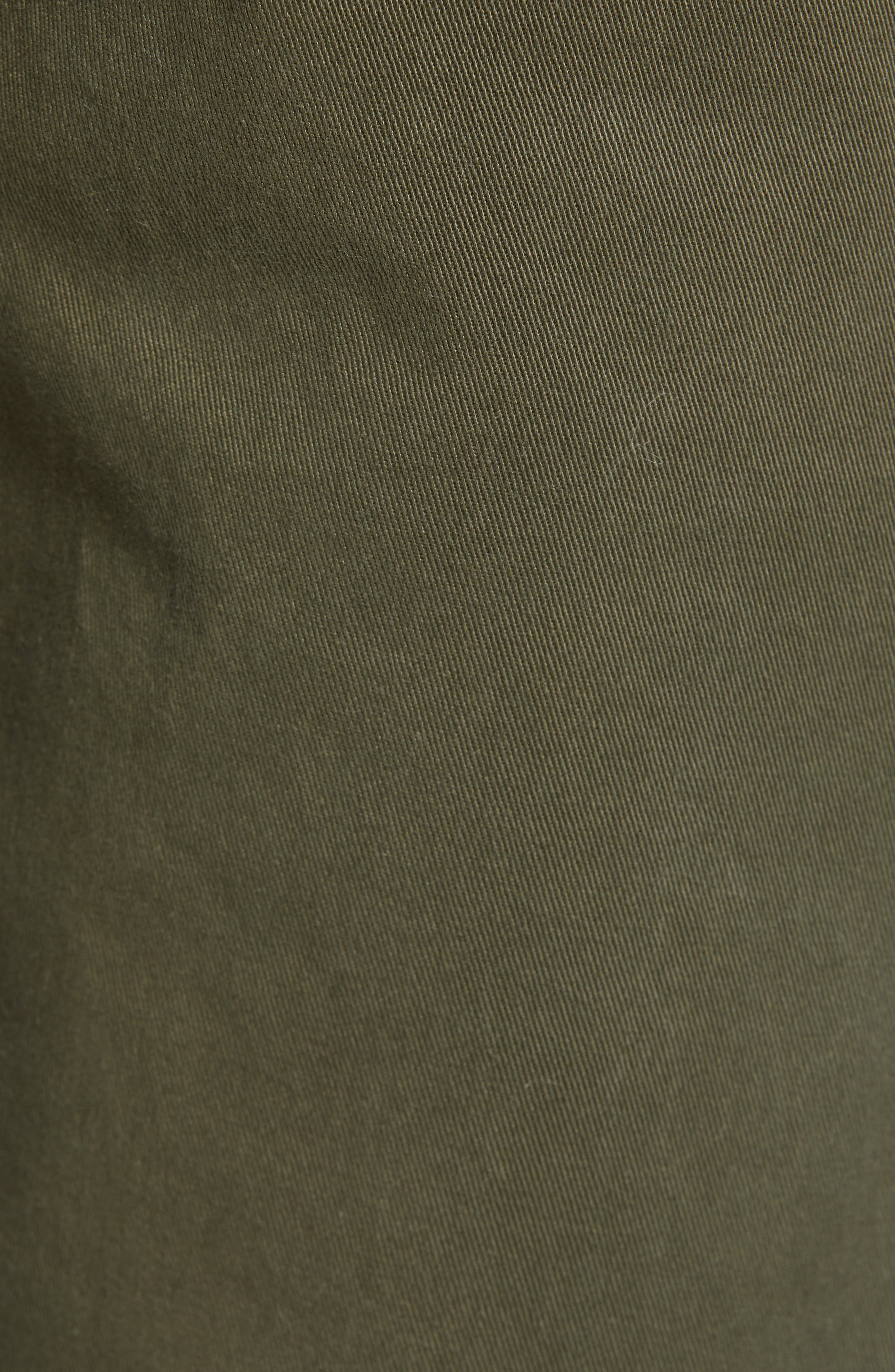 THE RAIL, Slim Fit Chinos, Alternate thumbnail 6, color, OLIVE GROVE