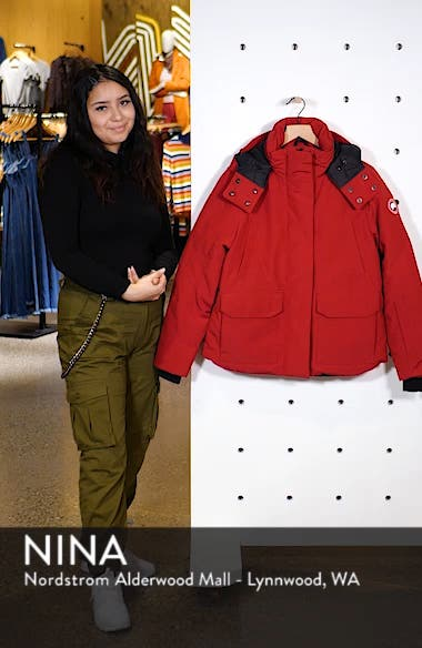 Blakely Water Resistant 625 Fill Power Down Parka, sales video thumbnail