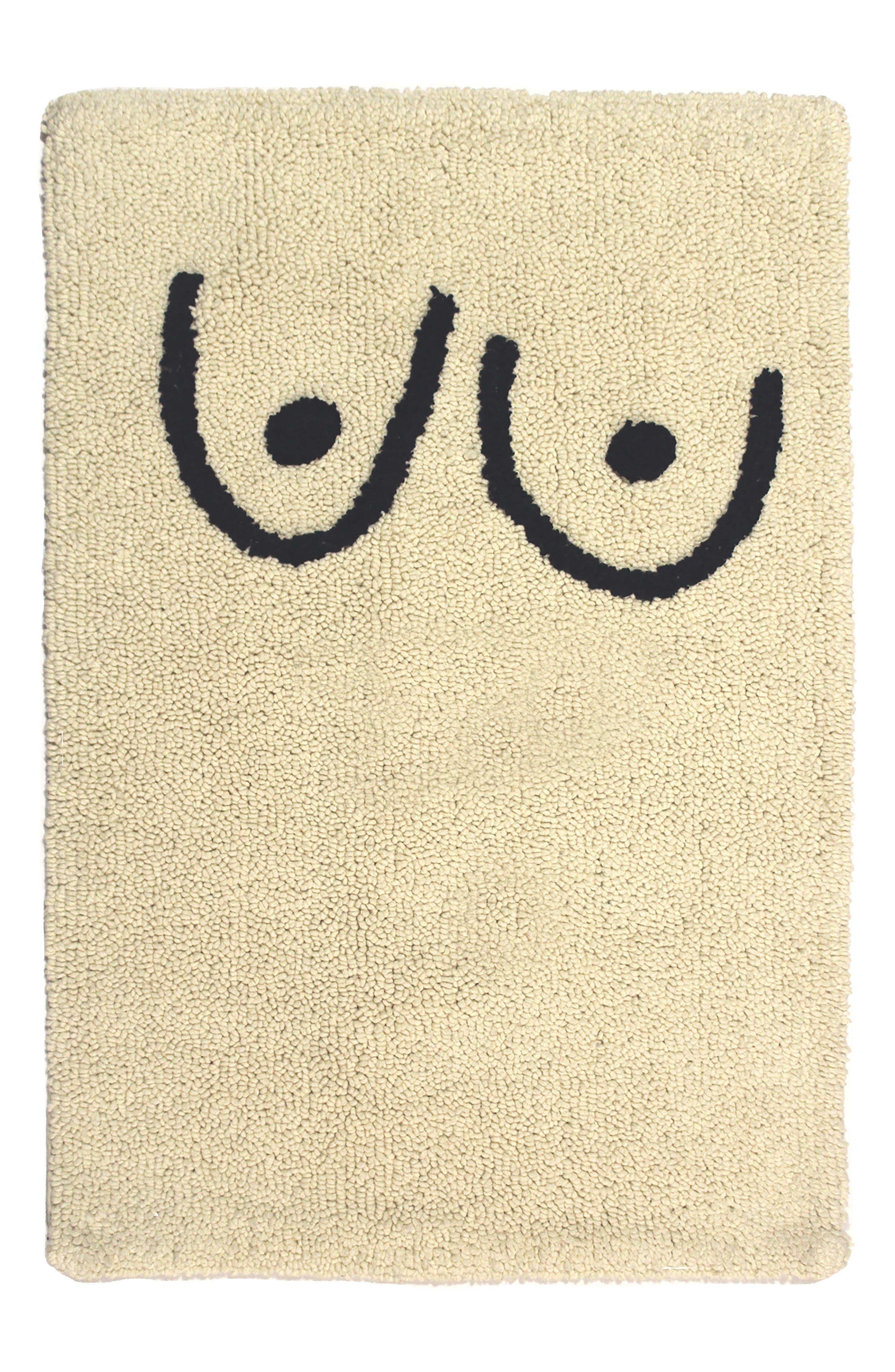 COLD PICNIC, Boob Bathmat, Main thumbnail 1, color, 100