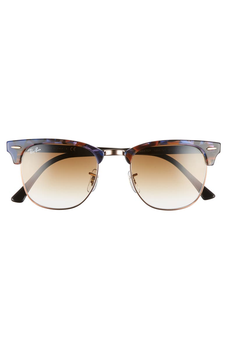 0cd6b32d1dcab Ray Ban Ray-Ban Unisex Rb3016 - Frame Color  Spotted Brown And Blue ...