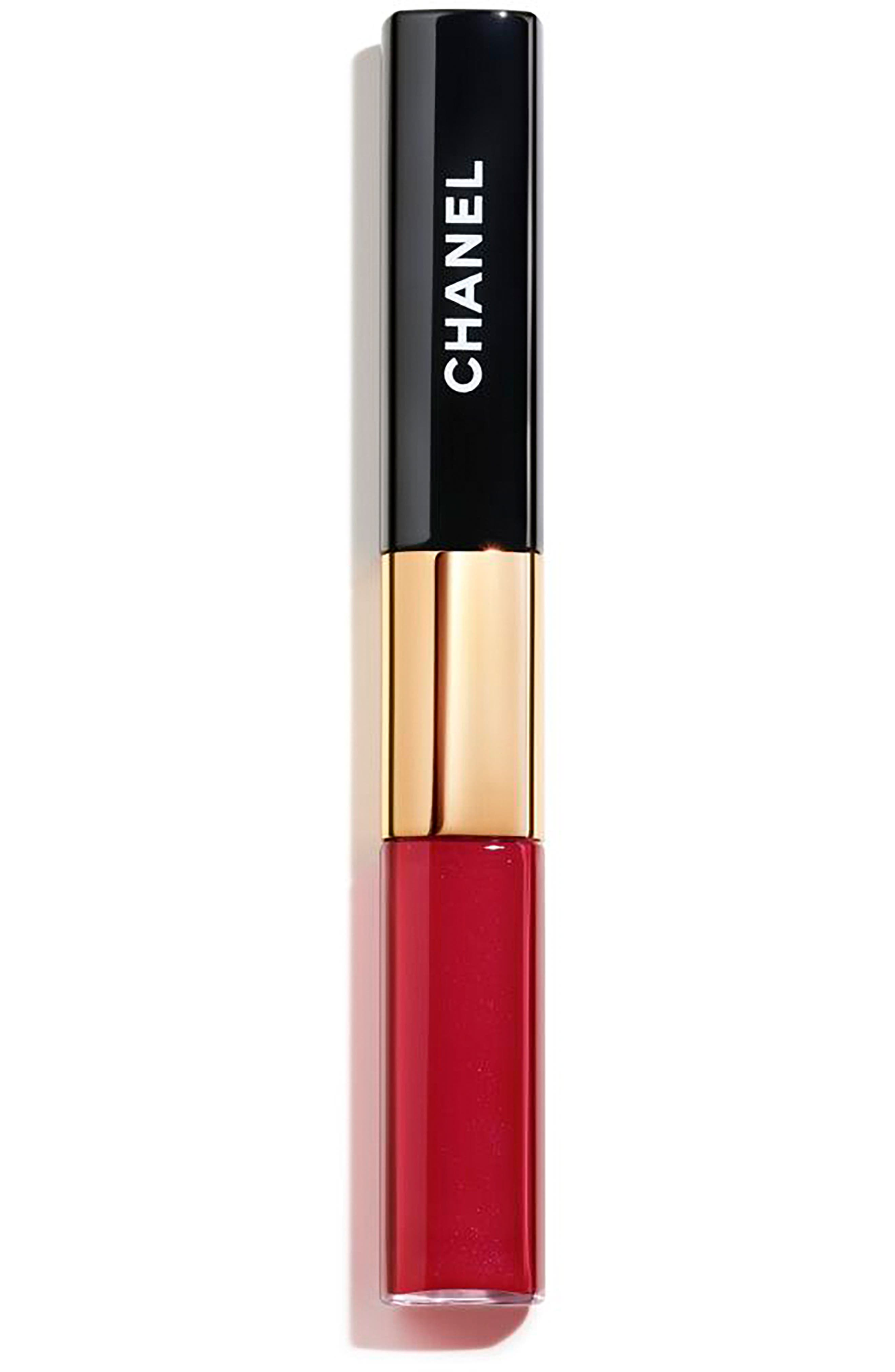 CHANEL LE ROUGE DUO ULTRA TENUE<br />Ultra Wear Lip Colour, Main, color, 47 DARING RED