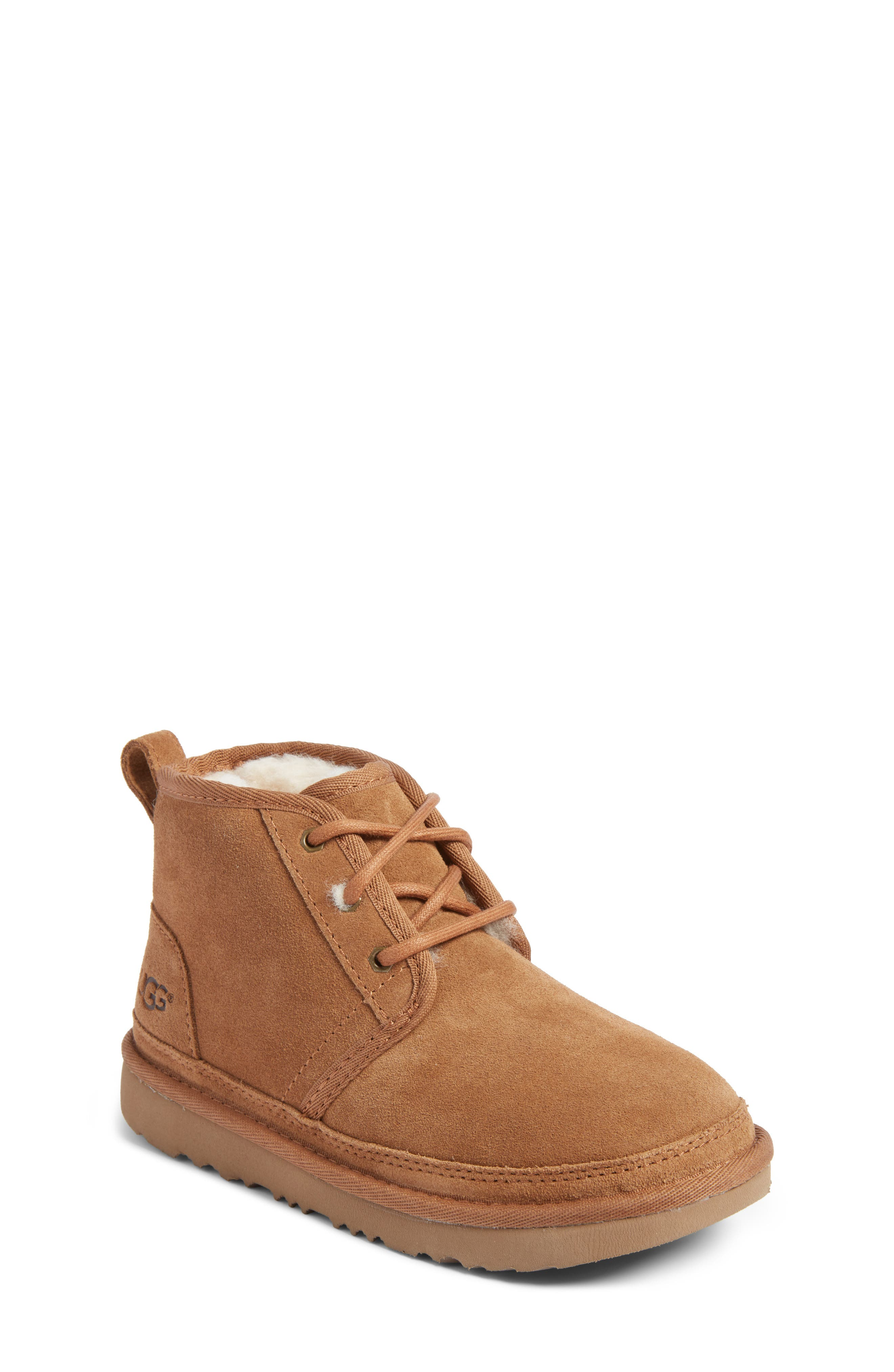 UGG<SUP>®</SUP>, Neumel II Water Resistant Chukka Boot, Main thumbnail 1, color, CHESTNUT BROWN