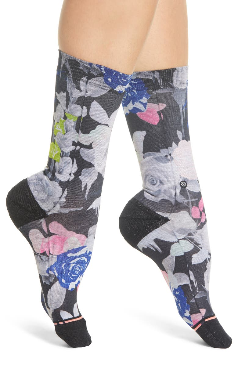 Stance Socks SPLENDID FLORAL CREW SOCKS