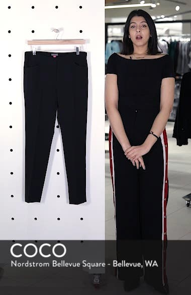 Stretch Twill Ankle Pants, sales video thumbnail