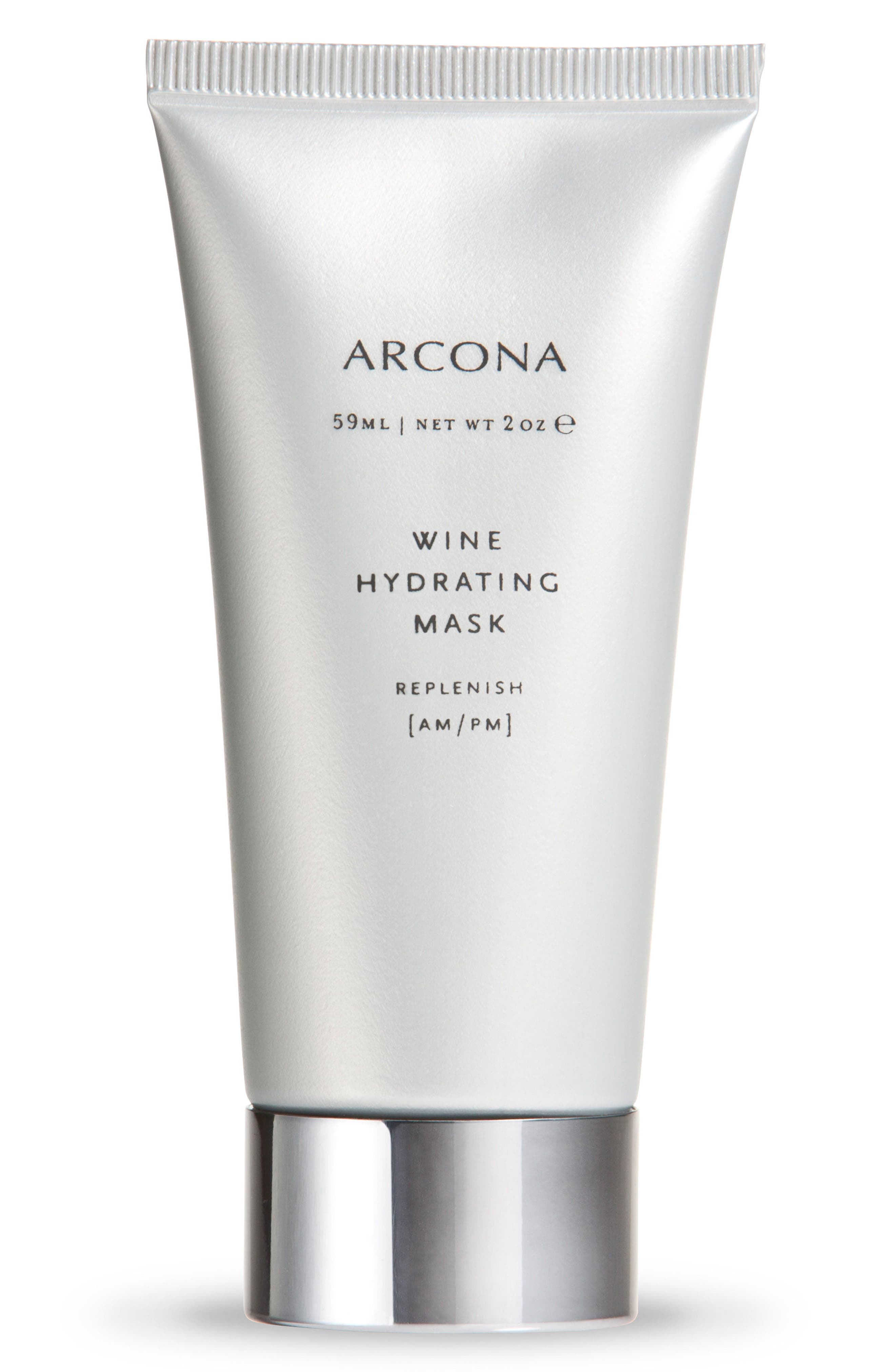 ARCONA, Wine Hydrating Mask, Main thumbnail 1, color, NO COLOR