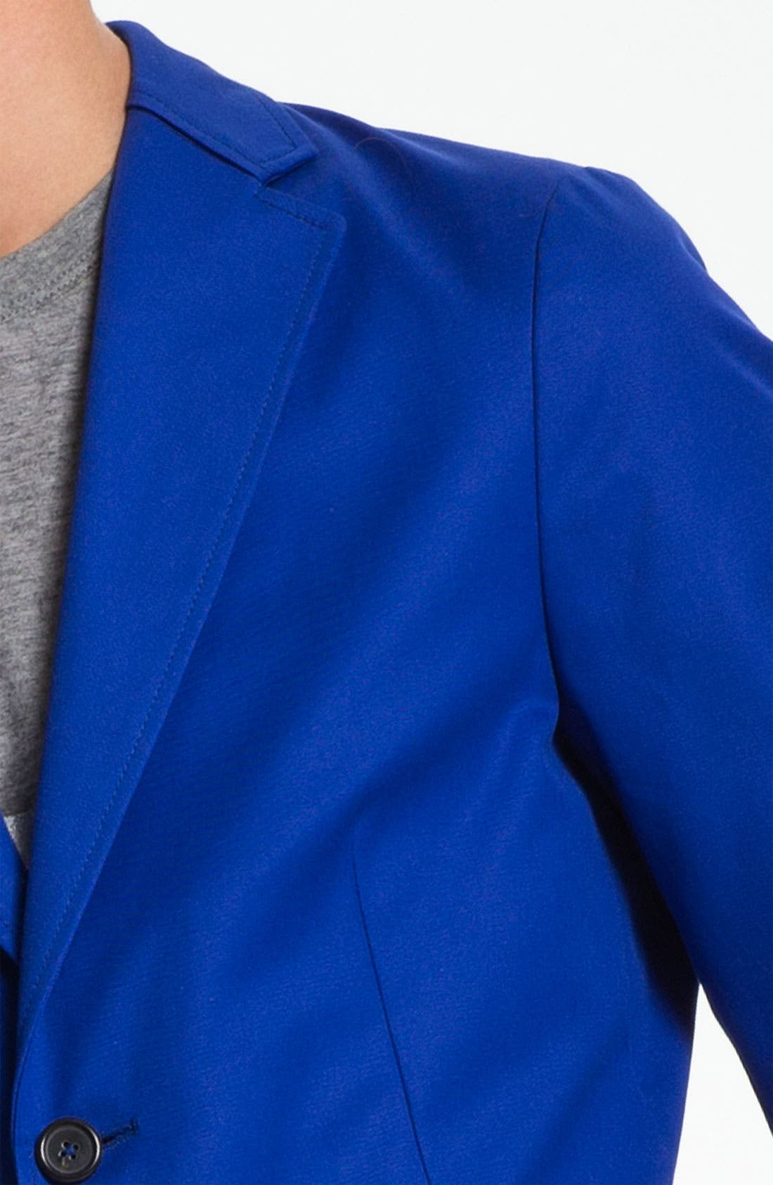 JIL SANDER, Blazer, Alternate thumbnail 3, color, 432