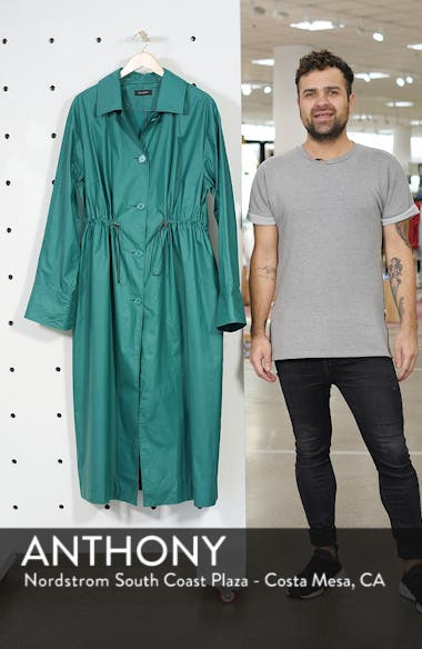 Elongated Cotton Overcoat, sales video thumbnail