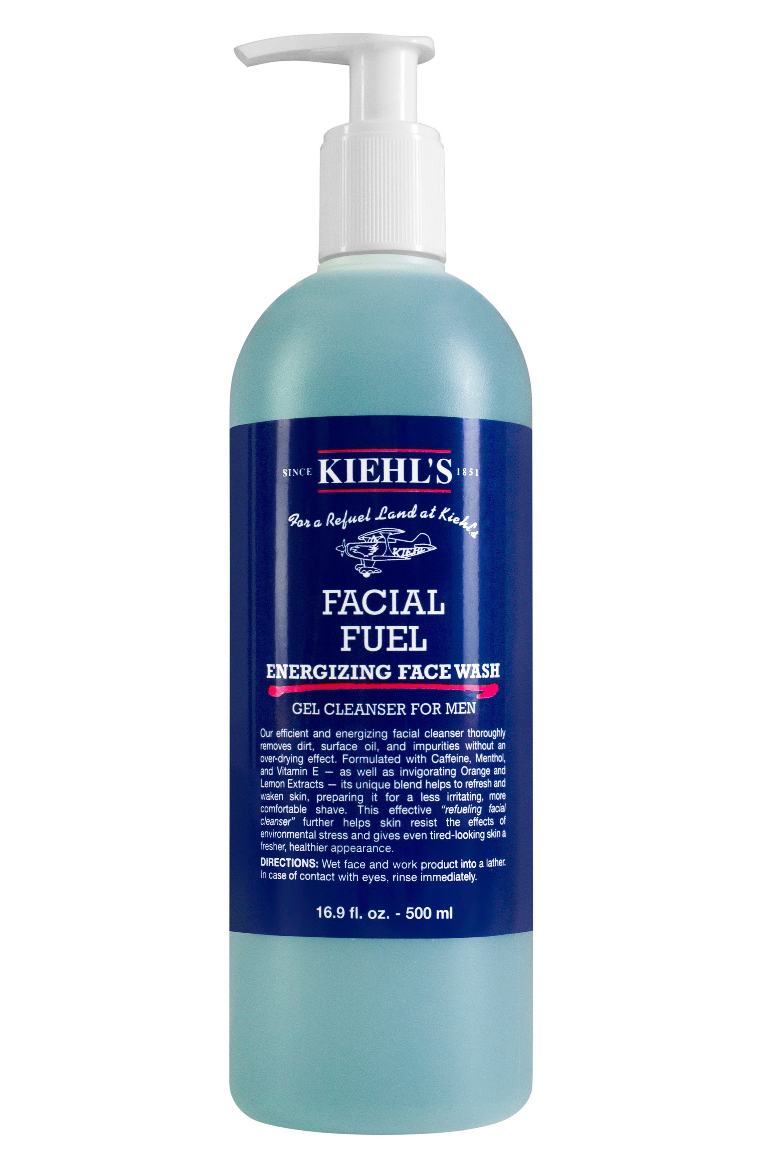 KIEHL'S SINCE 1851, Facial Fuel Energizing Face Wash, Main thumbnail 1, color, NO COLOR