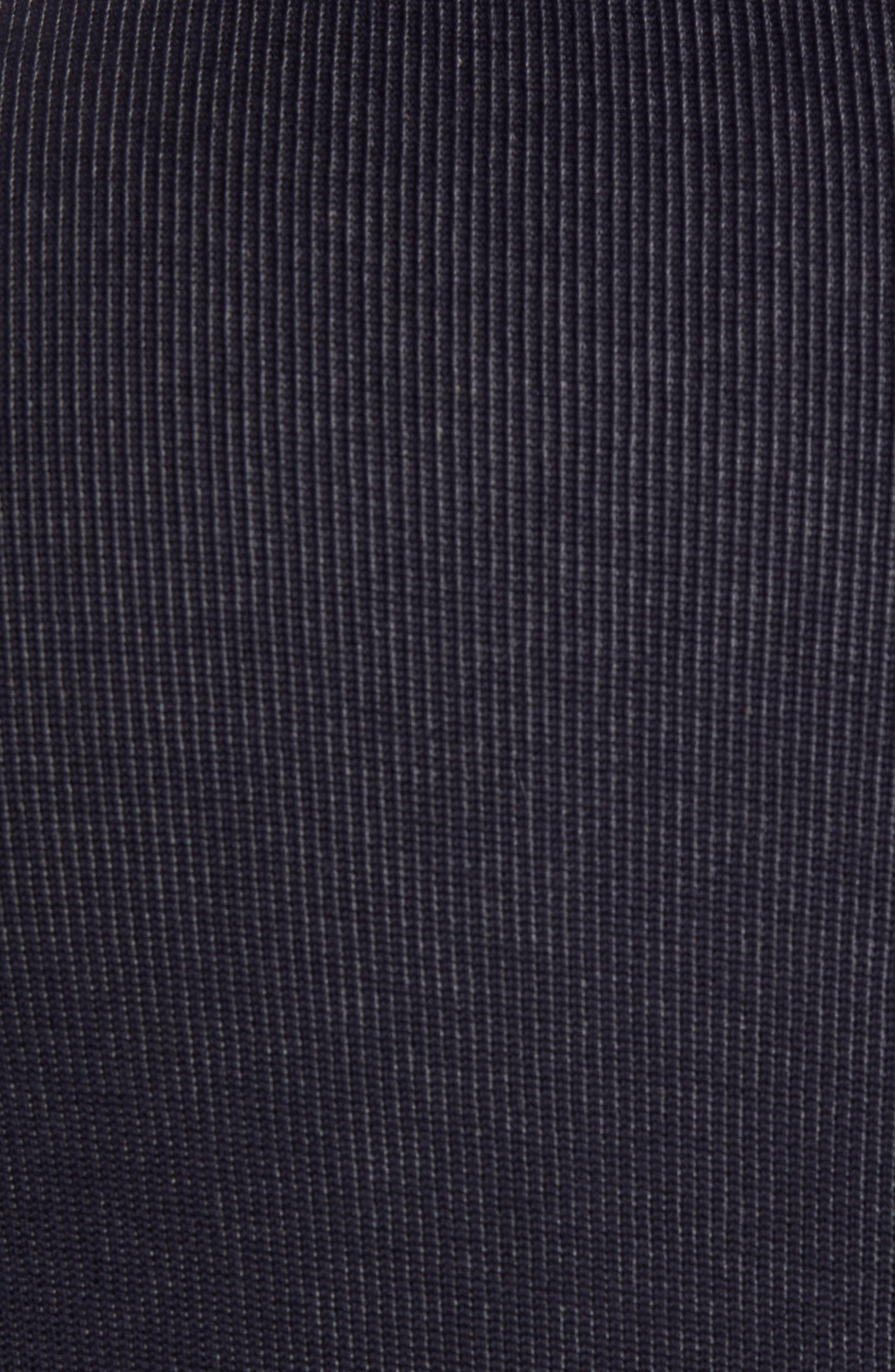 BOSS, Salea Slim Fit Sweatshirt Jacket, Alternate thumbnail 6, color, BLUE