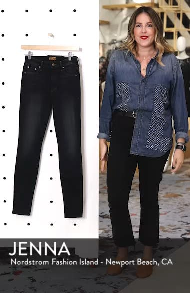 'The Looker' High Rise Skinny Jeans, sales video thumbnail