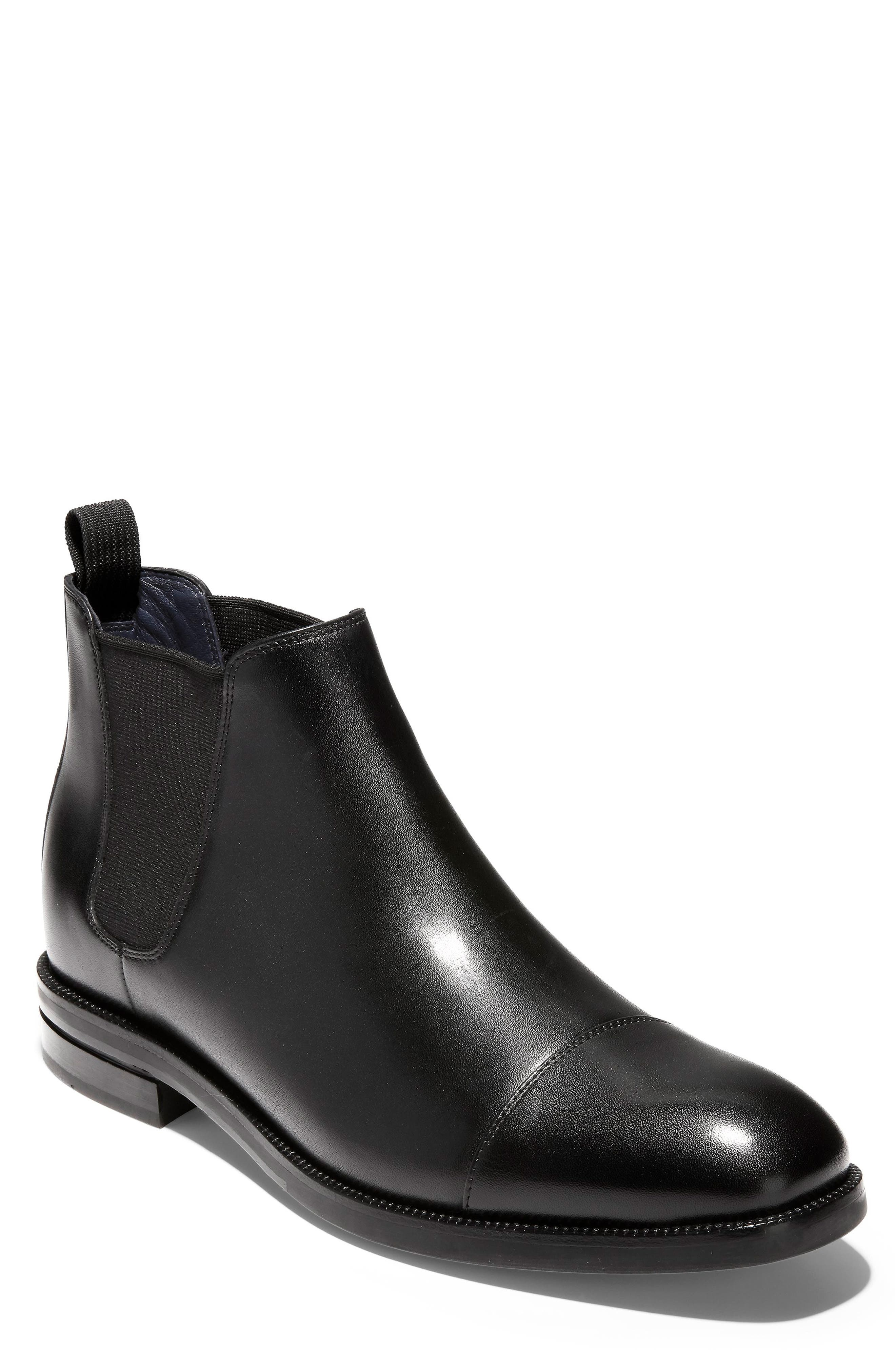 COLE HAAN, Wagner Grand Chelsea Boot, Main thumbnail 1, color, 001