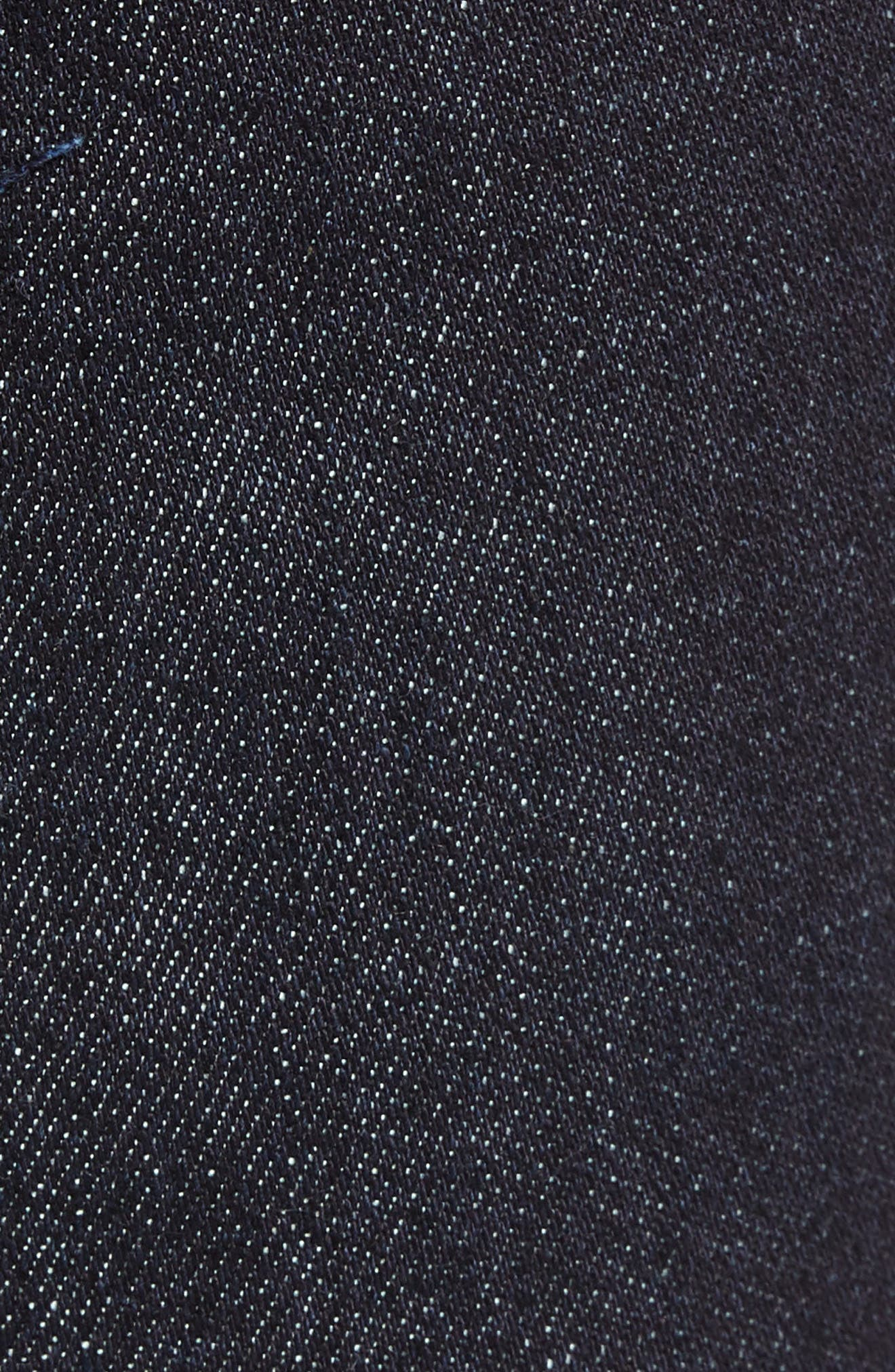 THE RAIL, Stretch Slim Leg Jeans, Alternate thumbnail 6, color, BLUE PERRY WASH