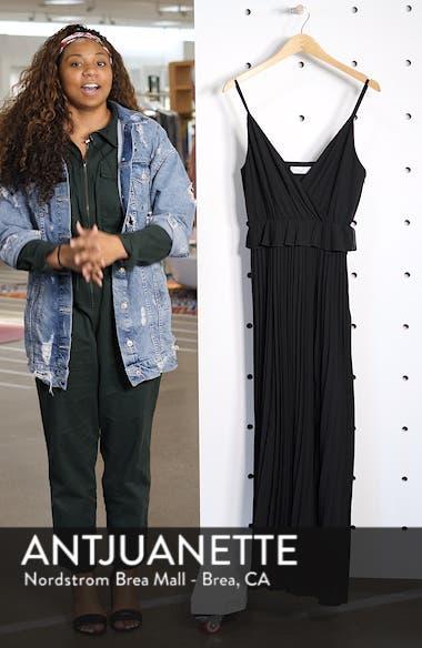 Olivet Pleated Maxi Dress, sales video thumbnail