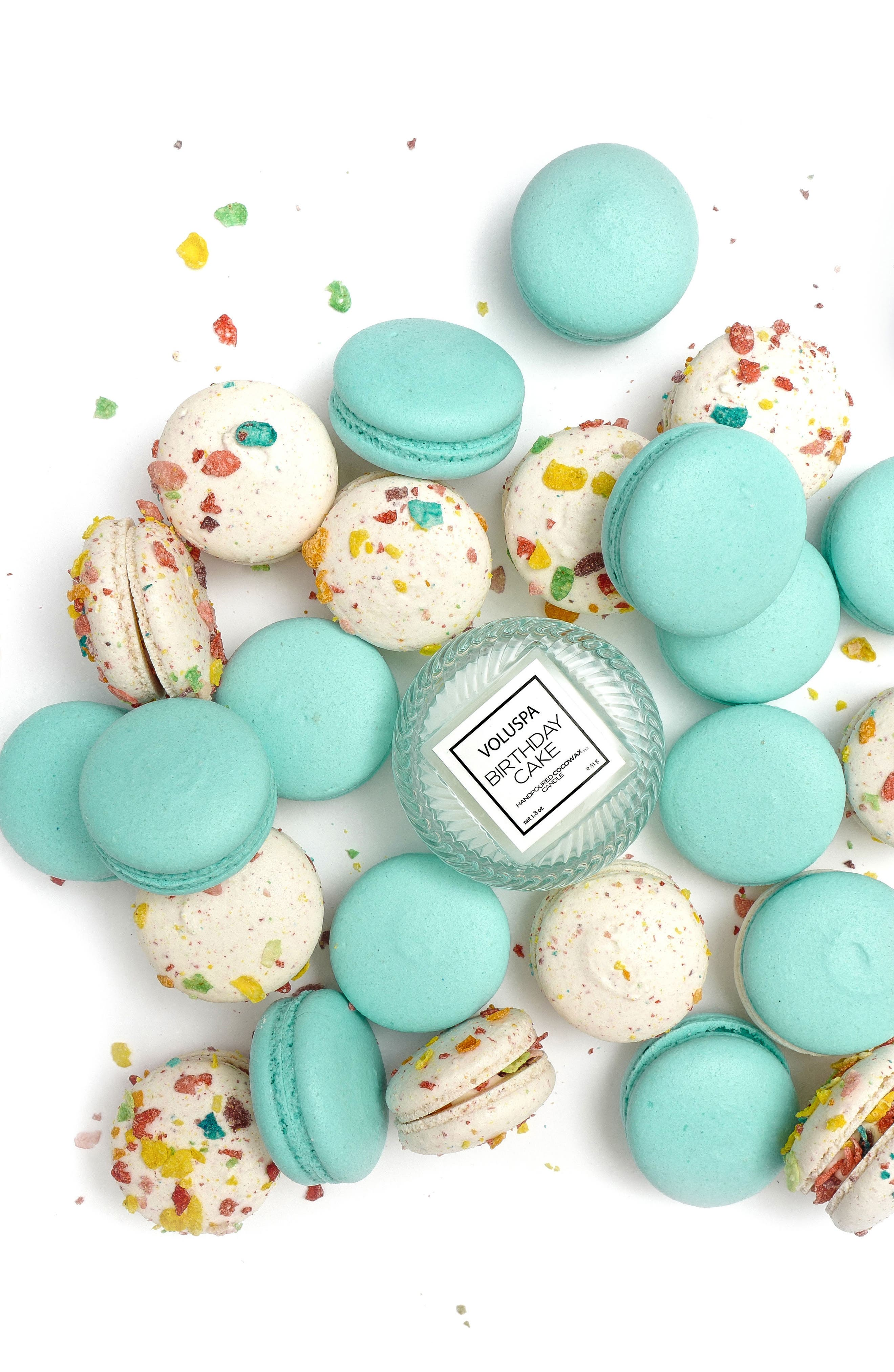 VOLUSPA, Macaron Candle, Alternate thumbnail 6, color, BIRTHDAY CAKE