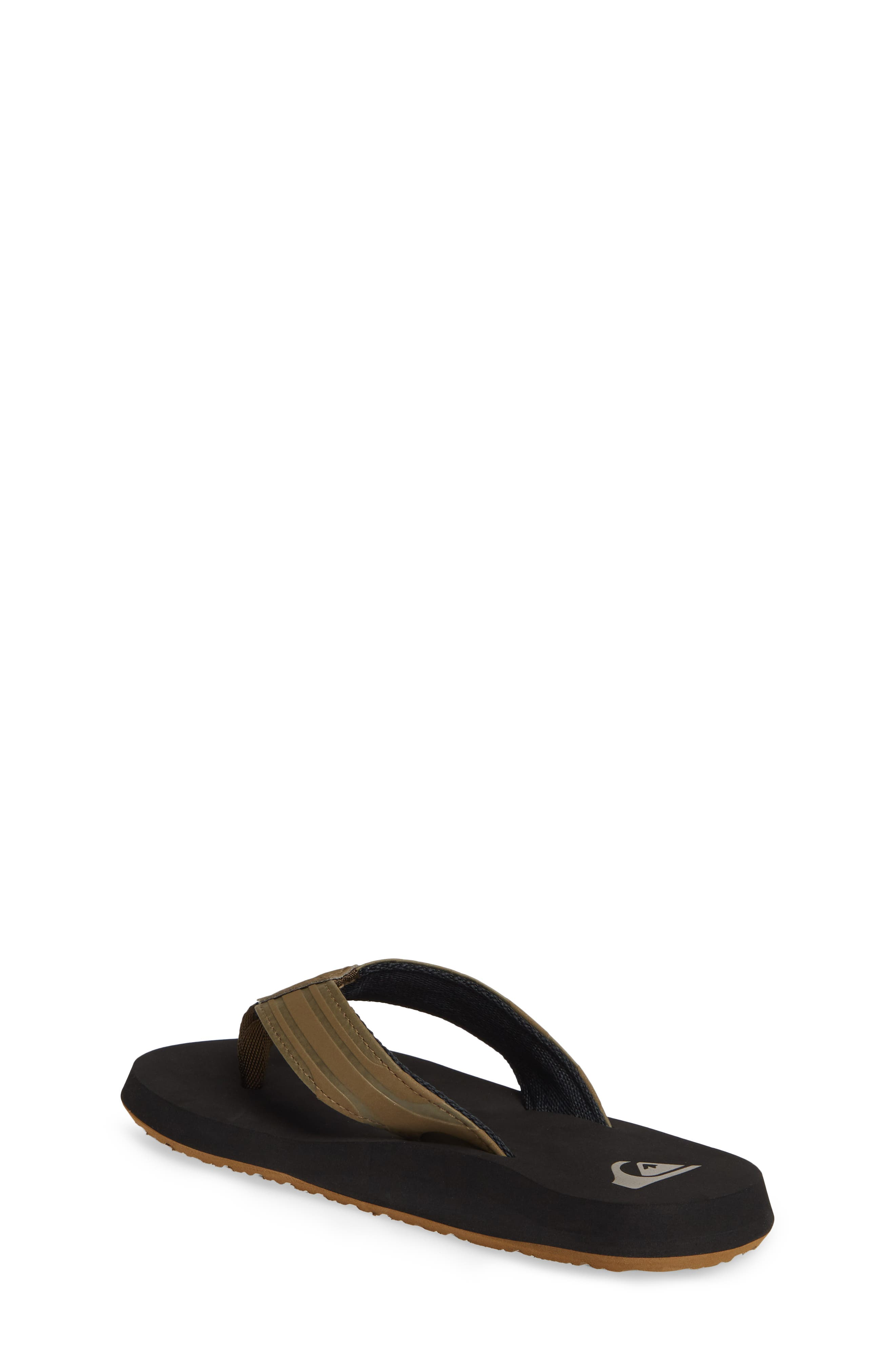 QUIKSILVER, Monkey Wrench Flip Flop, Alternate thumbnail 2, color, TAN