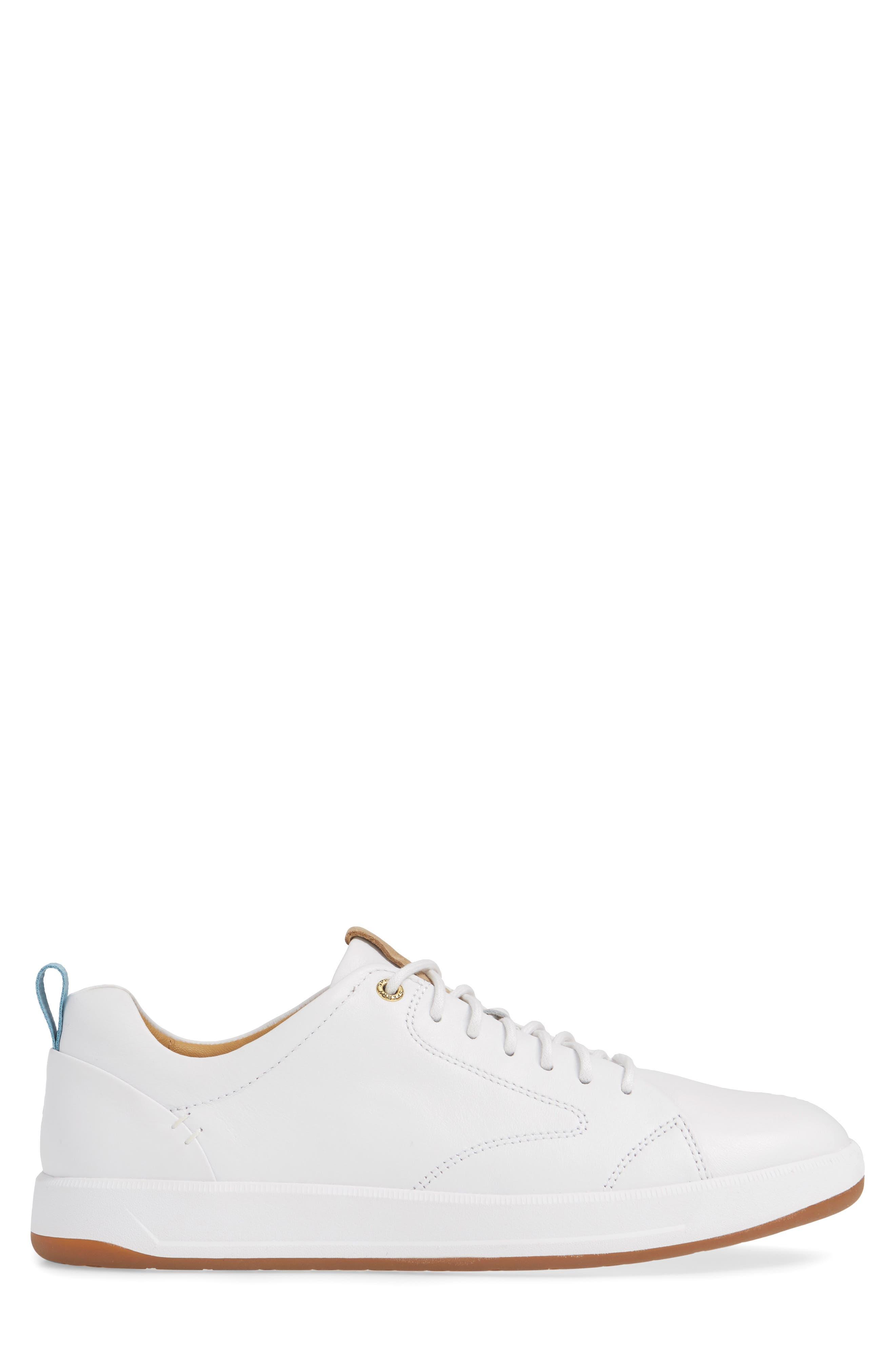 SPERRY, Gold Cup Richfield LTT Sneaker, Alternate thumbnail 3, color, WHITE