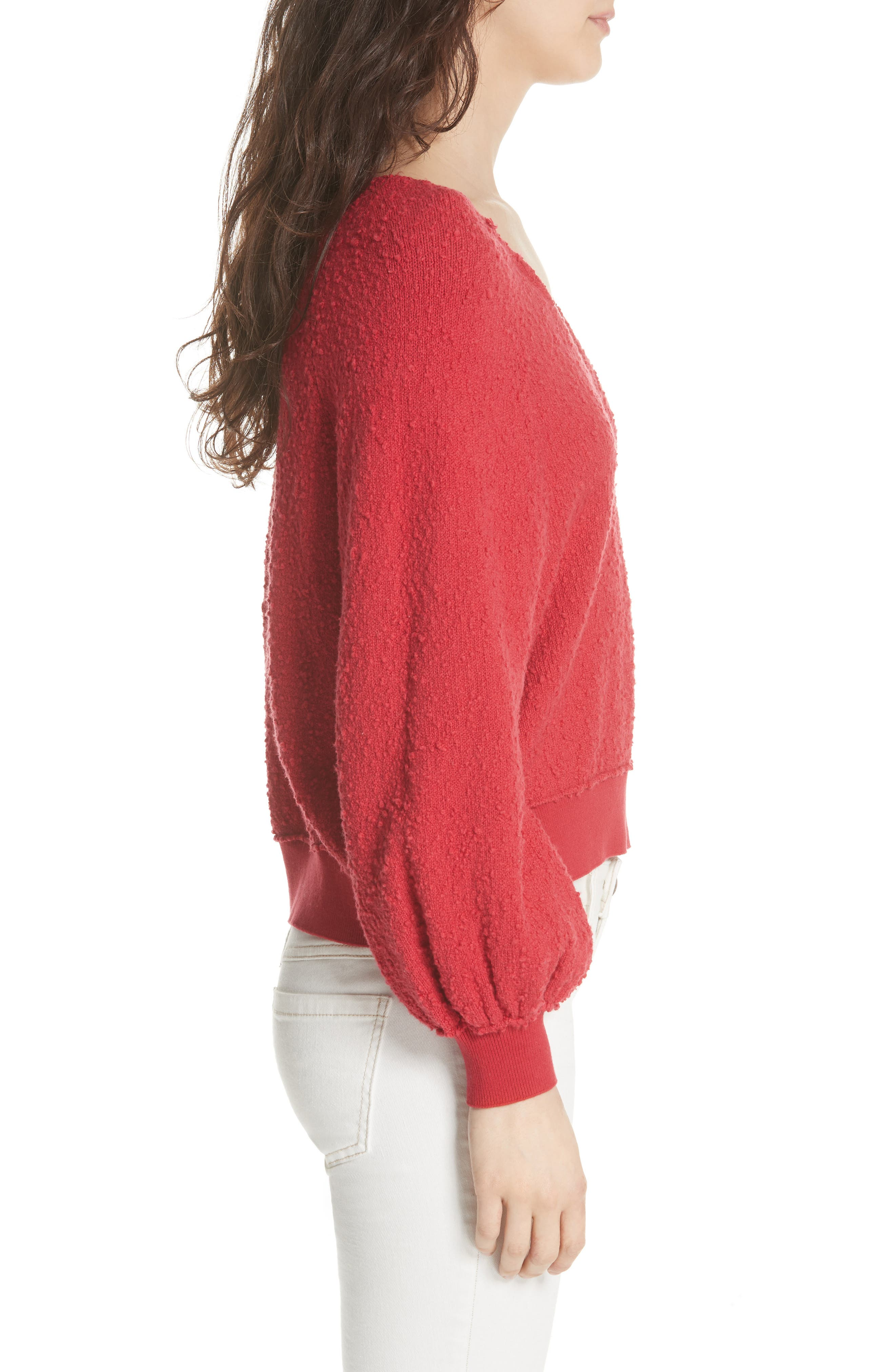 FREE PEOPLE, Found My Friend Sweater, Alternate thumbnail 3, color, 600