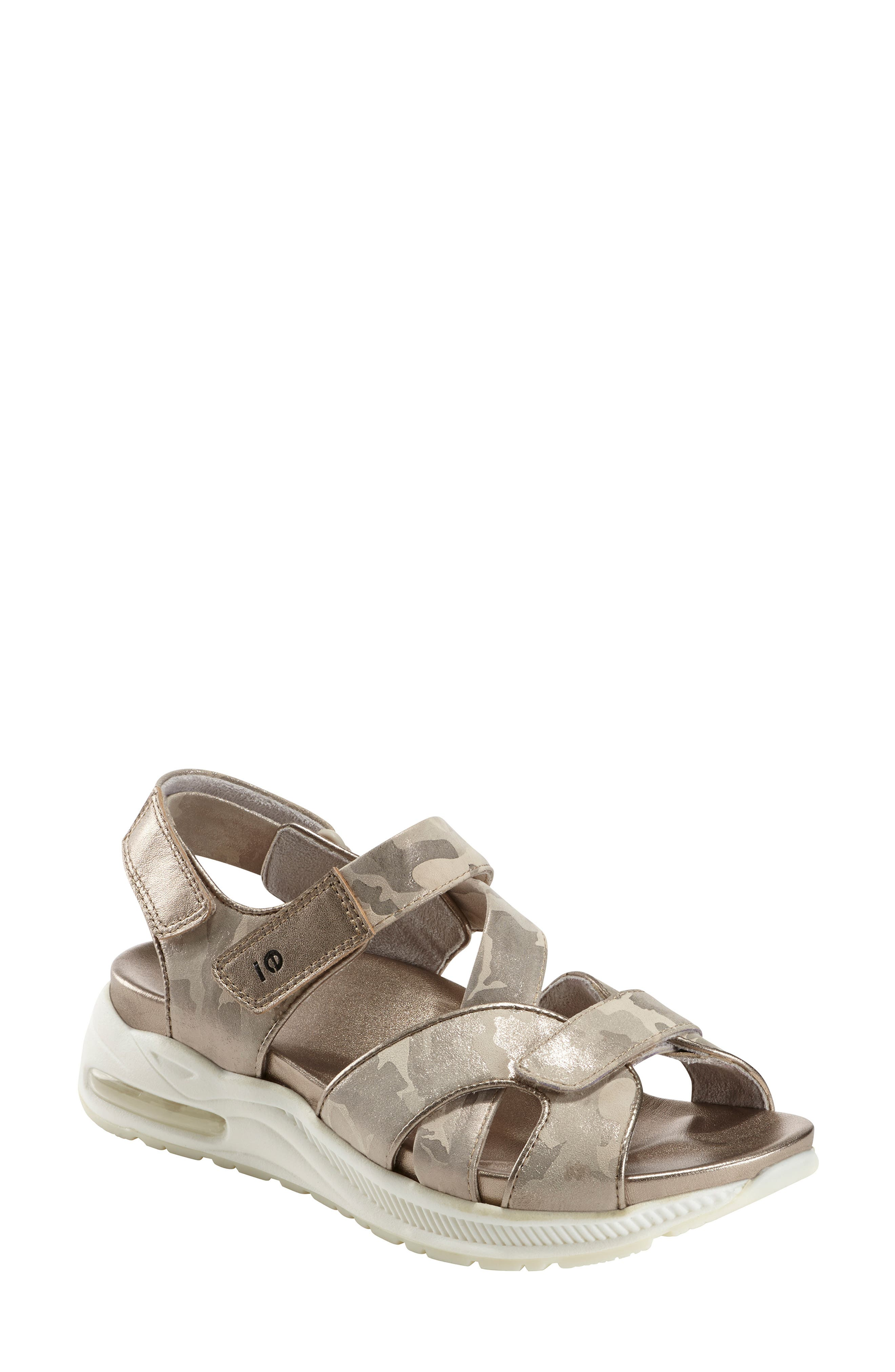 Earth Kushima Slingback Sandal, Metallic