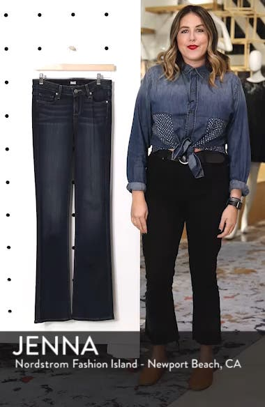 Transcend - Manhattan Bootcut Jeans, sales video thumbnail