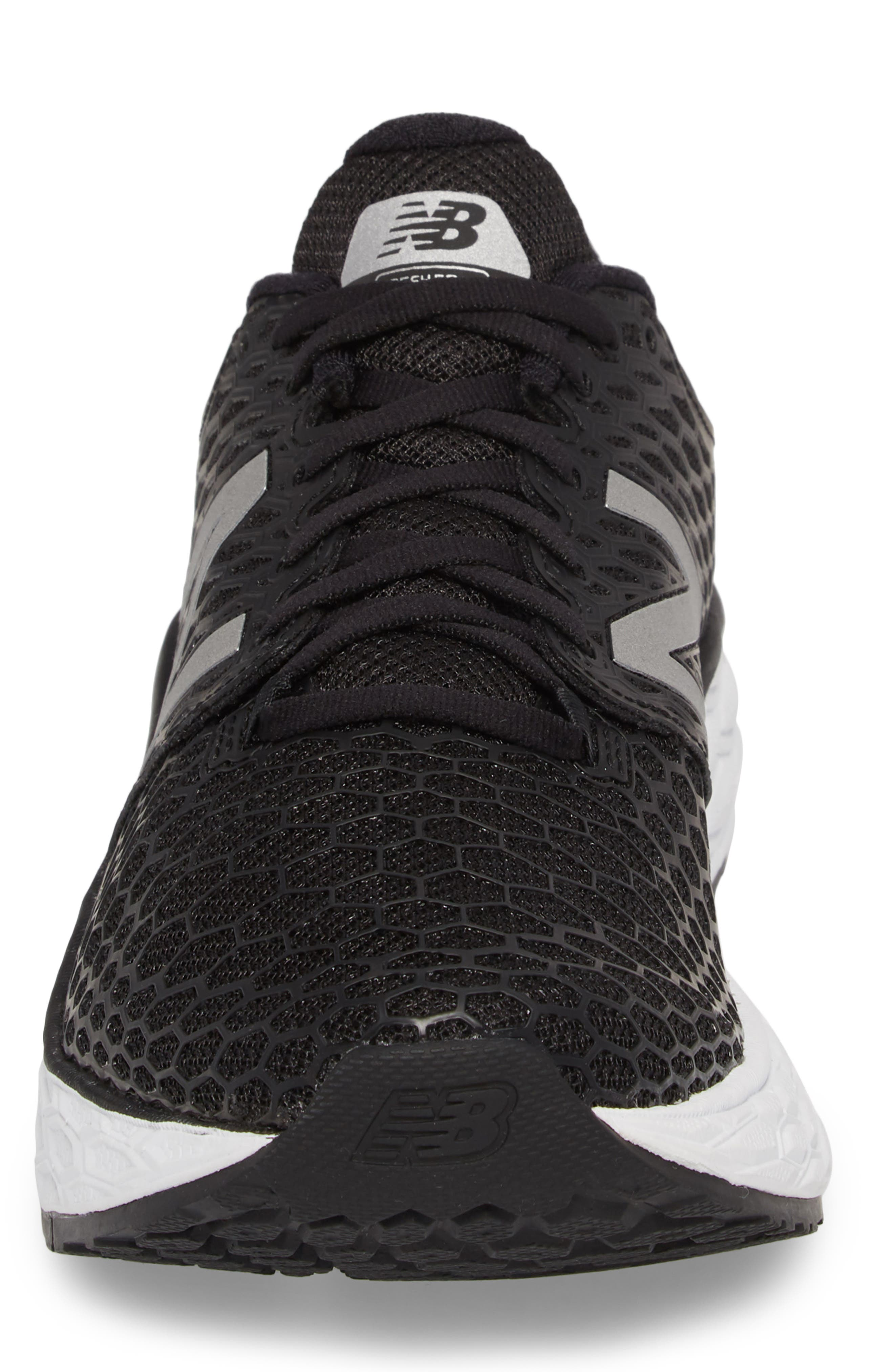 NEW BALANCE, Fresh Foam Vongo v3 Running Shoe, Alternate thumbnail 4, color, BLACK