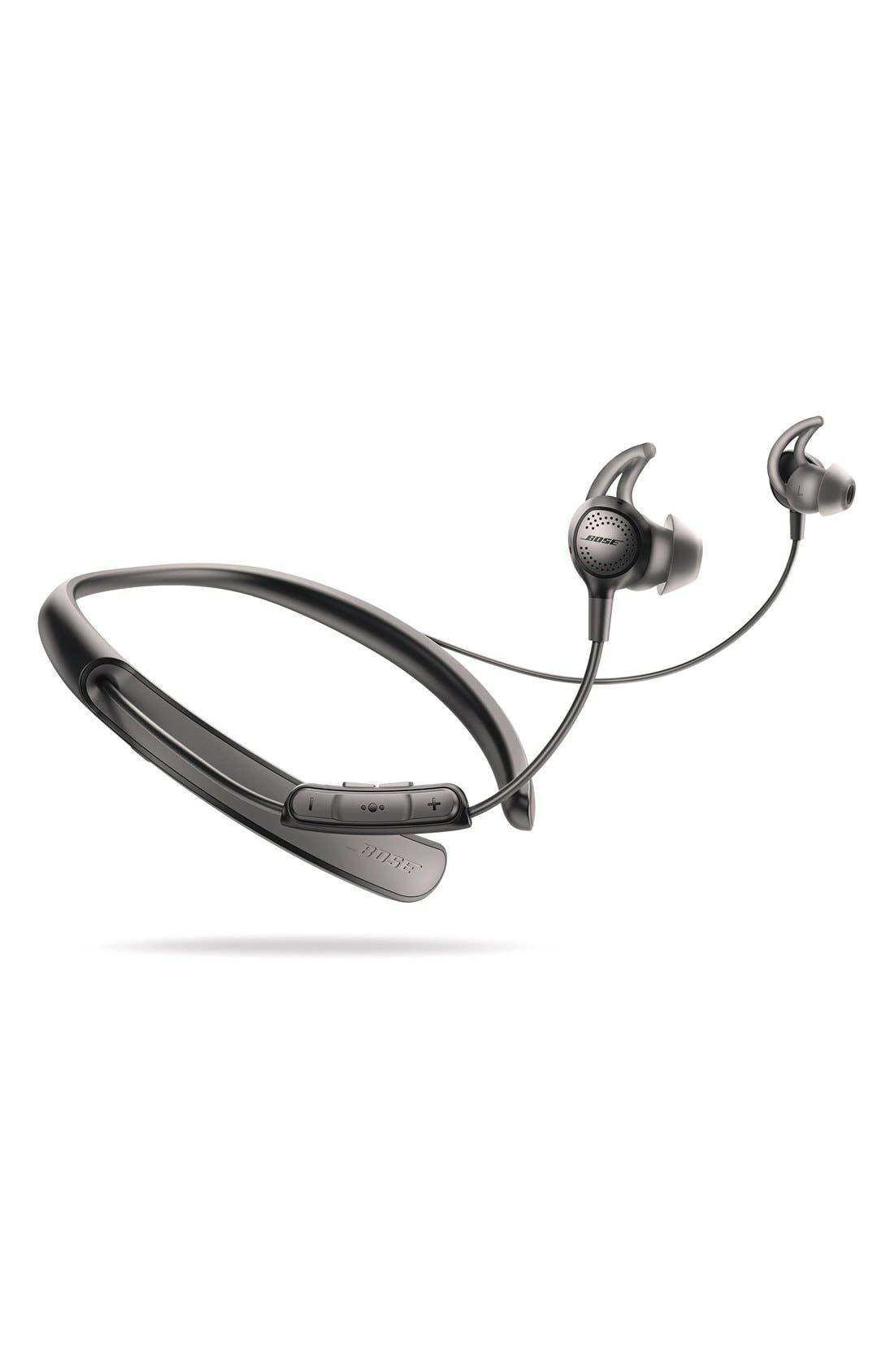 BOSE<SUP>®</SUP>, QuietControl<sup>®</sup> 30 Wireless Headphones, Alternate thumbnail 5, color, BLACK