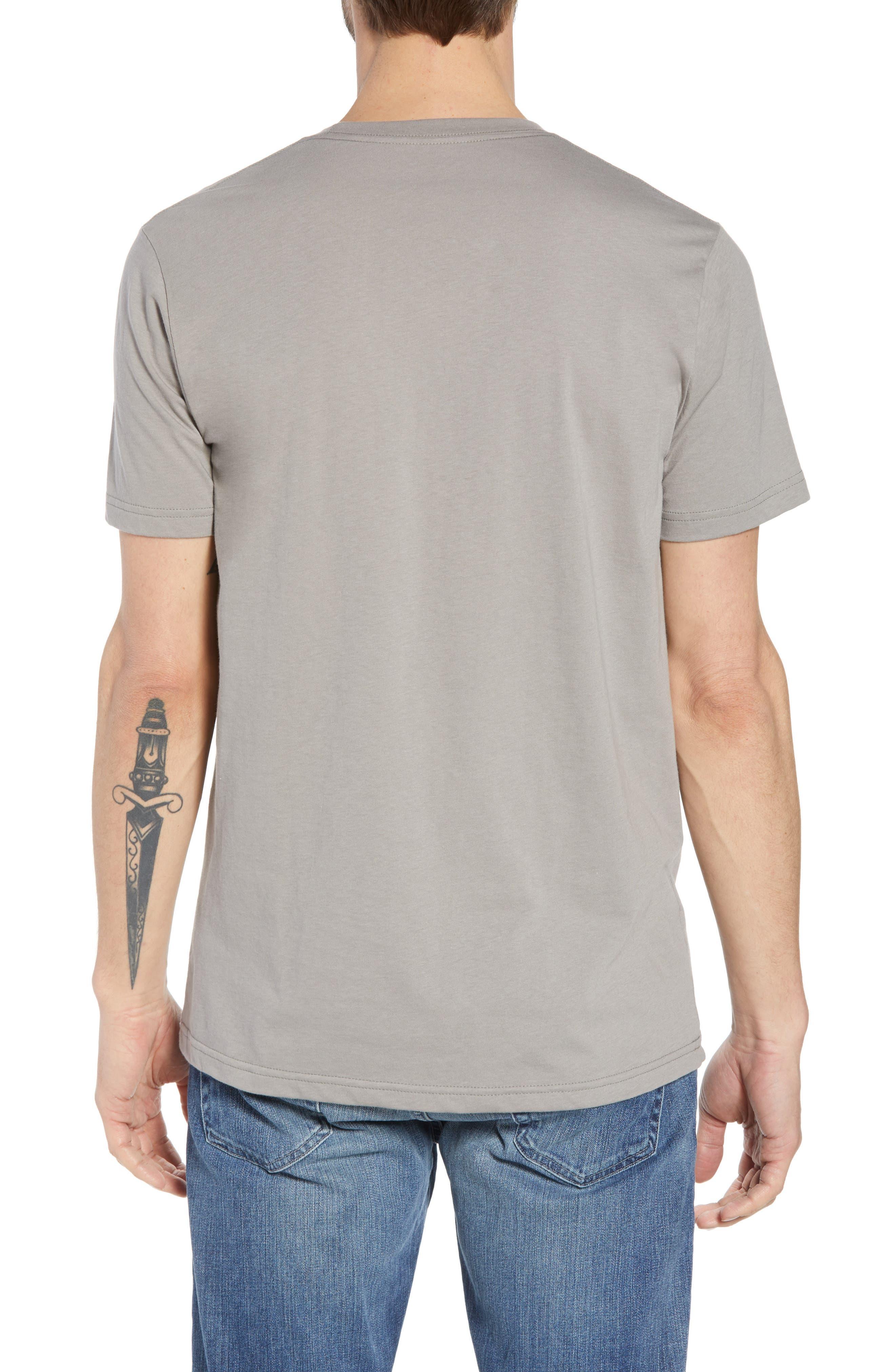 PATAGONIA, Fitz Roy Scope Crewneck T-Shirt, Alternate thumbnail 2, color, FEATHER GREY