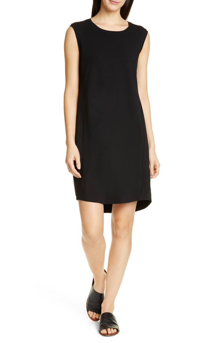 Eileen Fisher Dresses SCOOP NECK SLEEVELESS DRESS