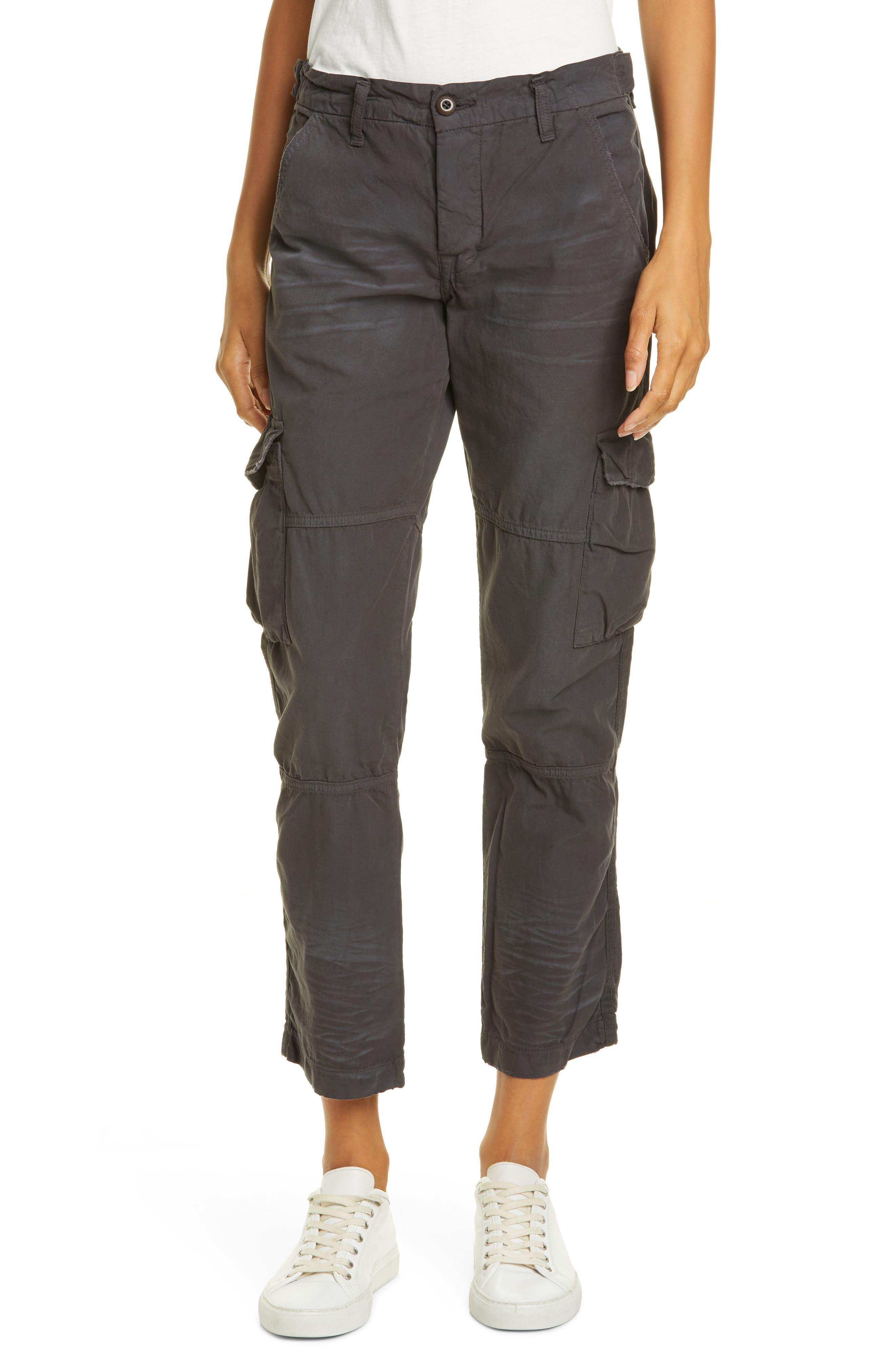 Nsf Clothing Basquiat Cargo Pants, Black