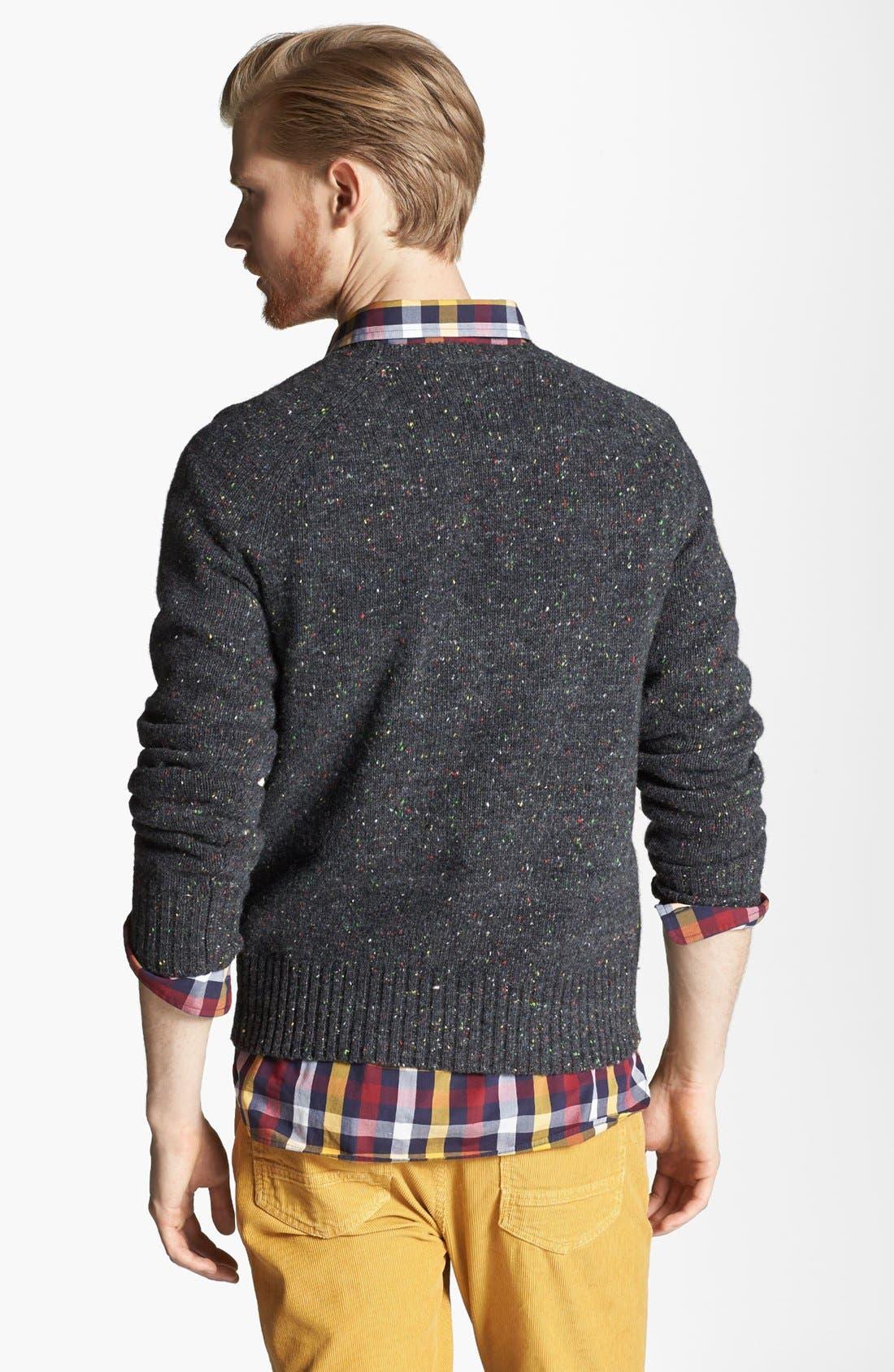 JACK SPADE, 'Wendell' Crewneck Sweater, Alternate thumbnail 2, color, 072