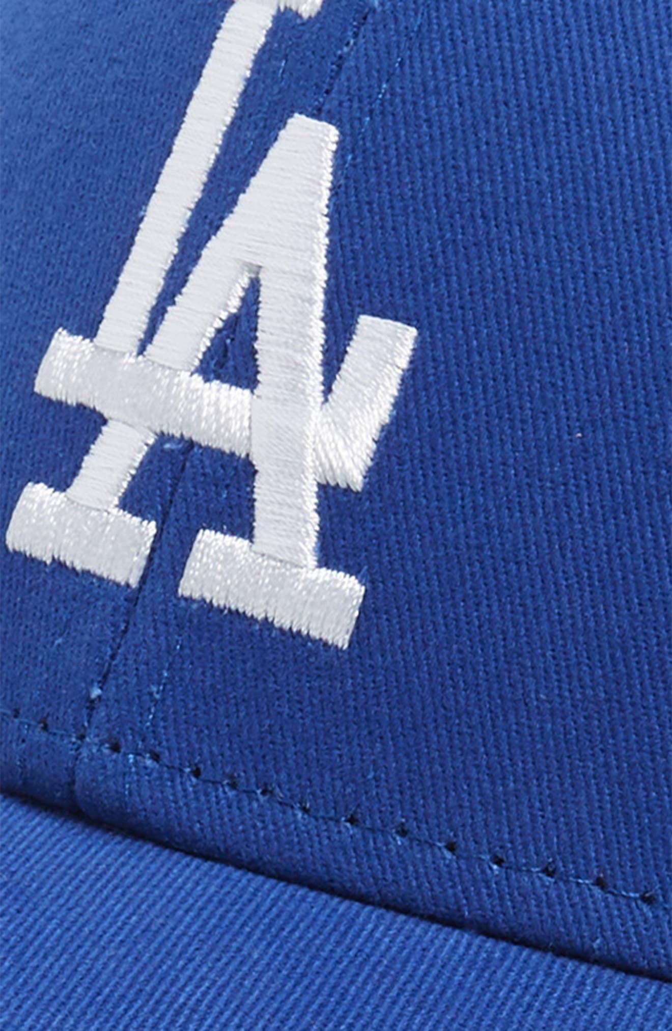 '47, Los Angeles Dodgers Baseball Cap, Alternate thumbnail 3, color, BLUE