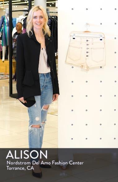 Bridgette Denim Shorts, sales video thumbnail
