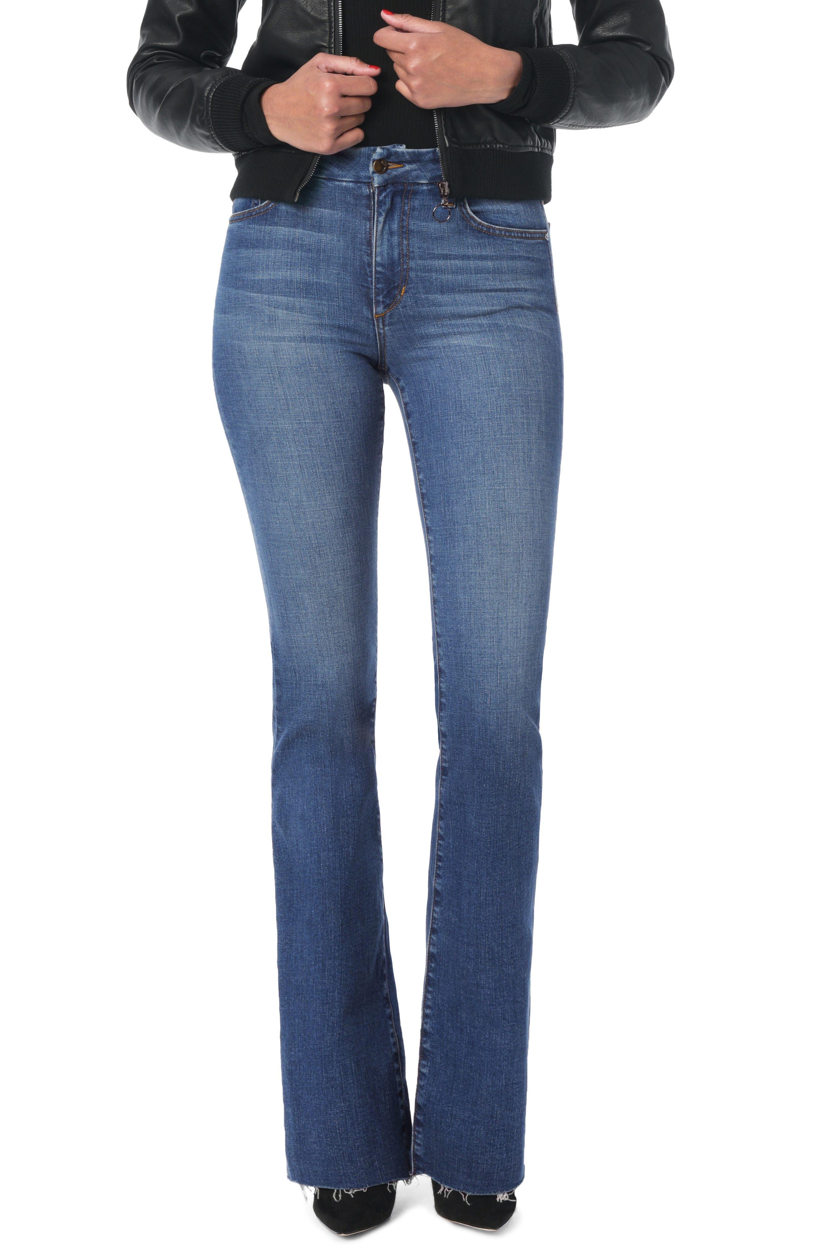 JOE'S Joe's Hi Rise Honey Curvy Bootcut Jeans, Main, color, KAHLO