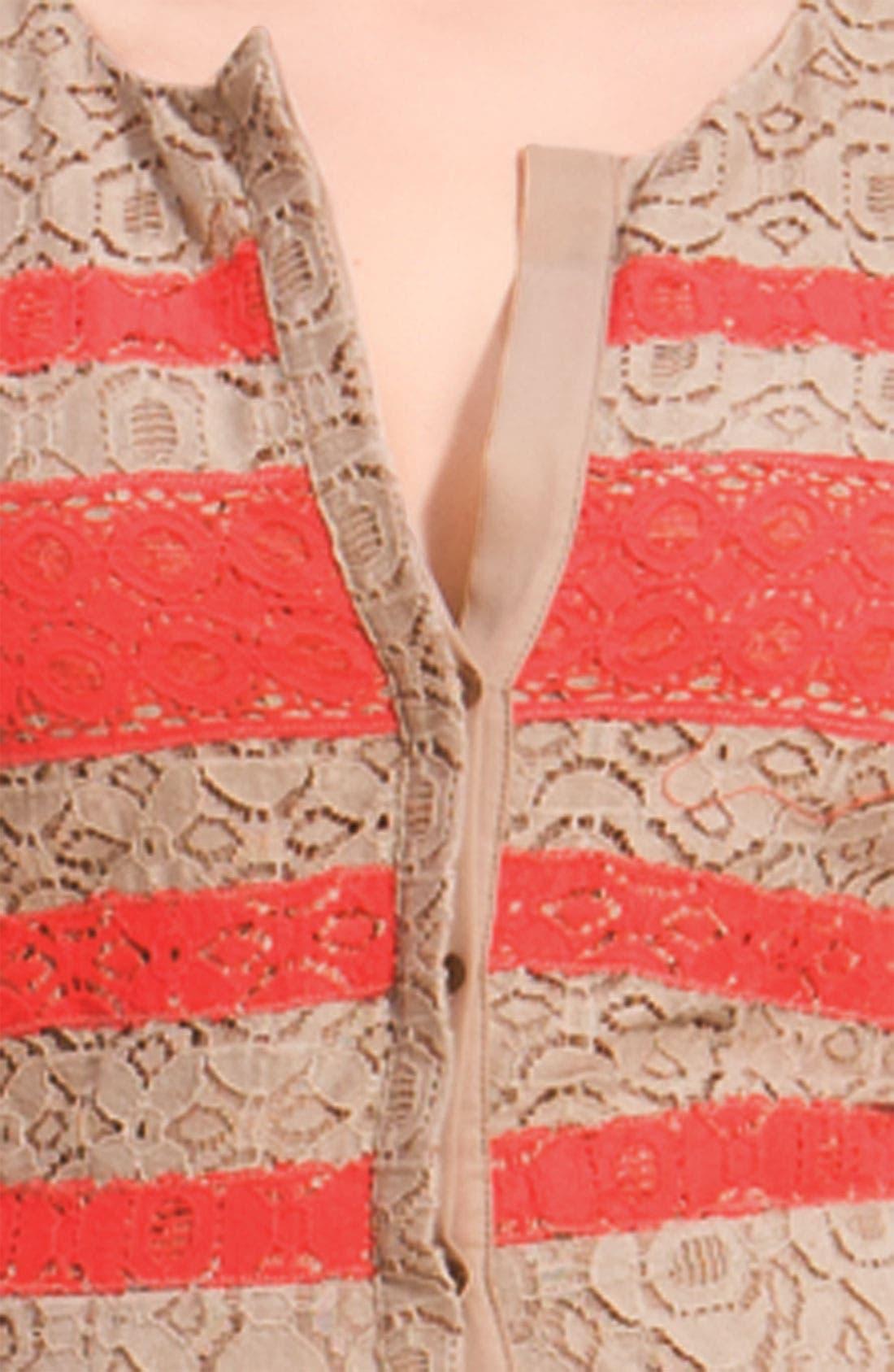 BCBGMAXAZRIA, 'Dasen' Shirtdress, Alternate thumbnail 3, color, 260