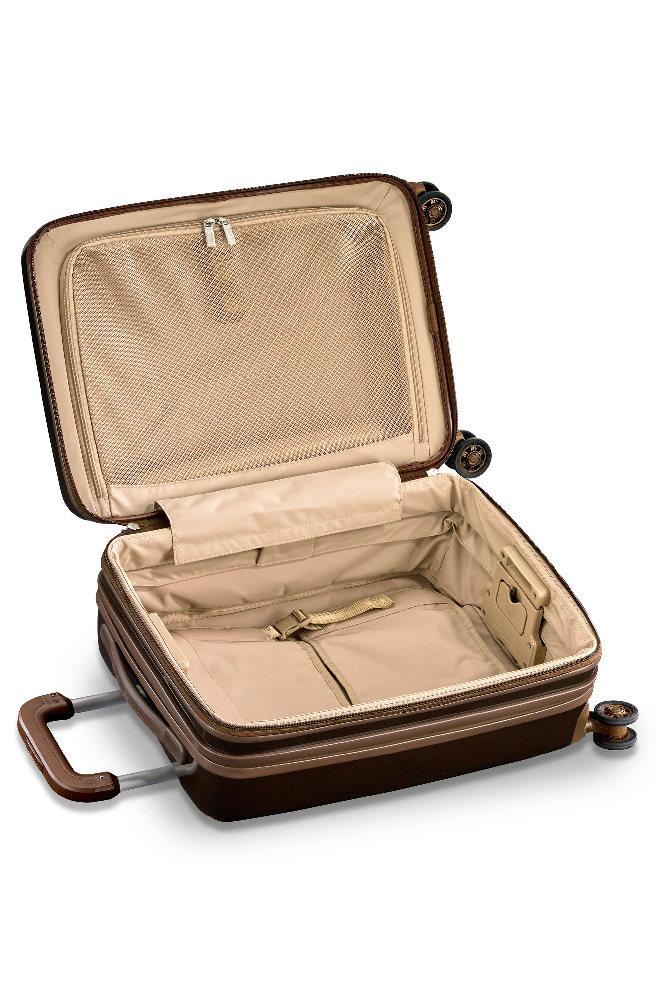 BRIGGS & RILEY, Sympatico 21-Inch Expandable Wheeled Carry-On, Alternate thumbnail 2, color, BRONZE