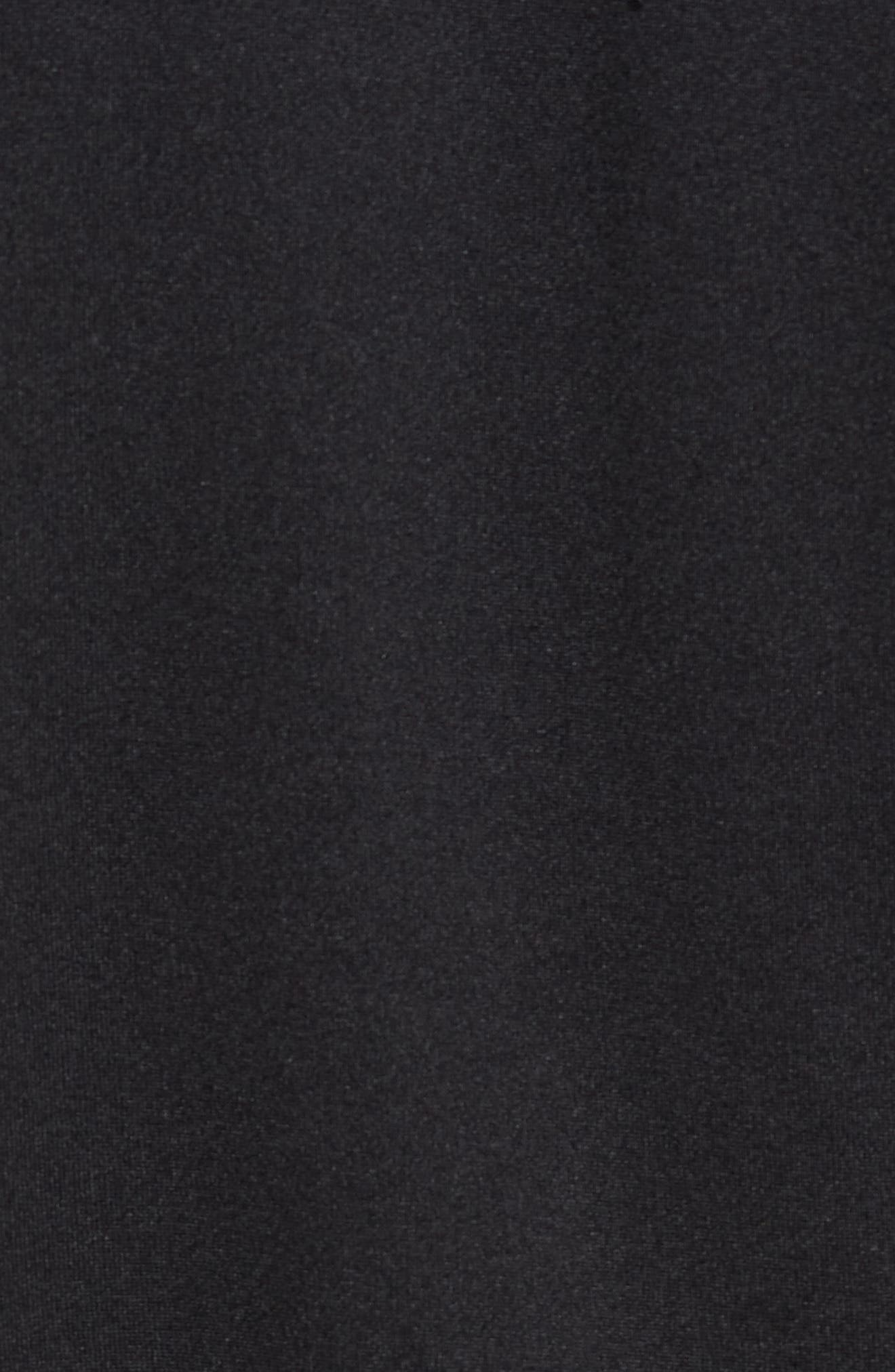 ADIDAS ORIGINALS, SST Track Jacket, Alternate thumbnail 5, color, BLACK