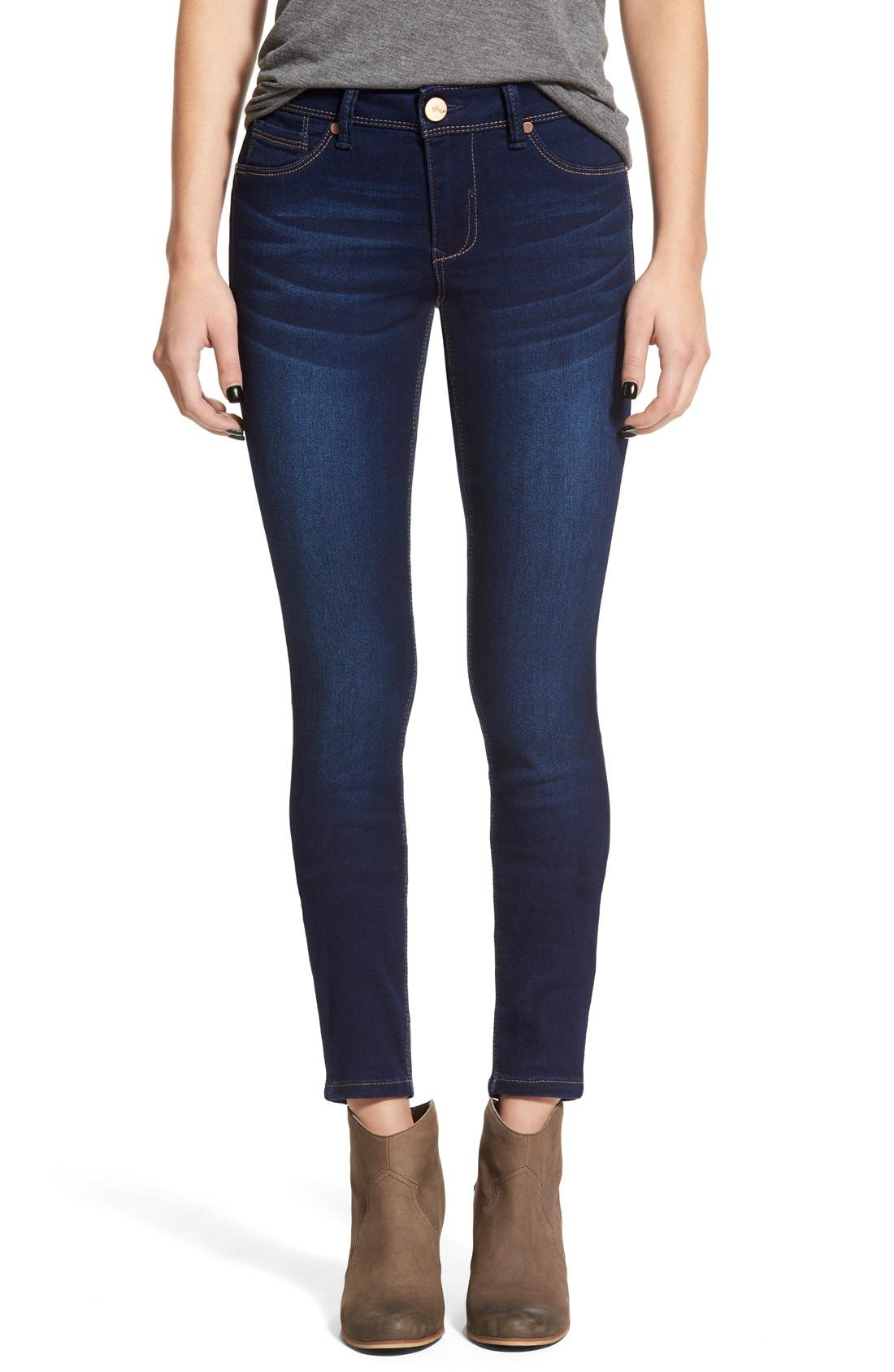 1822 DENIM, Butter Skinny Jeans, Main thumbnail 1, color, LENNOX
