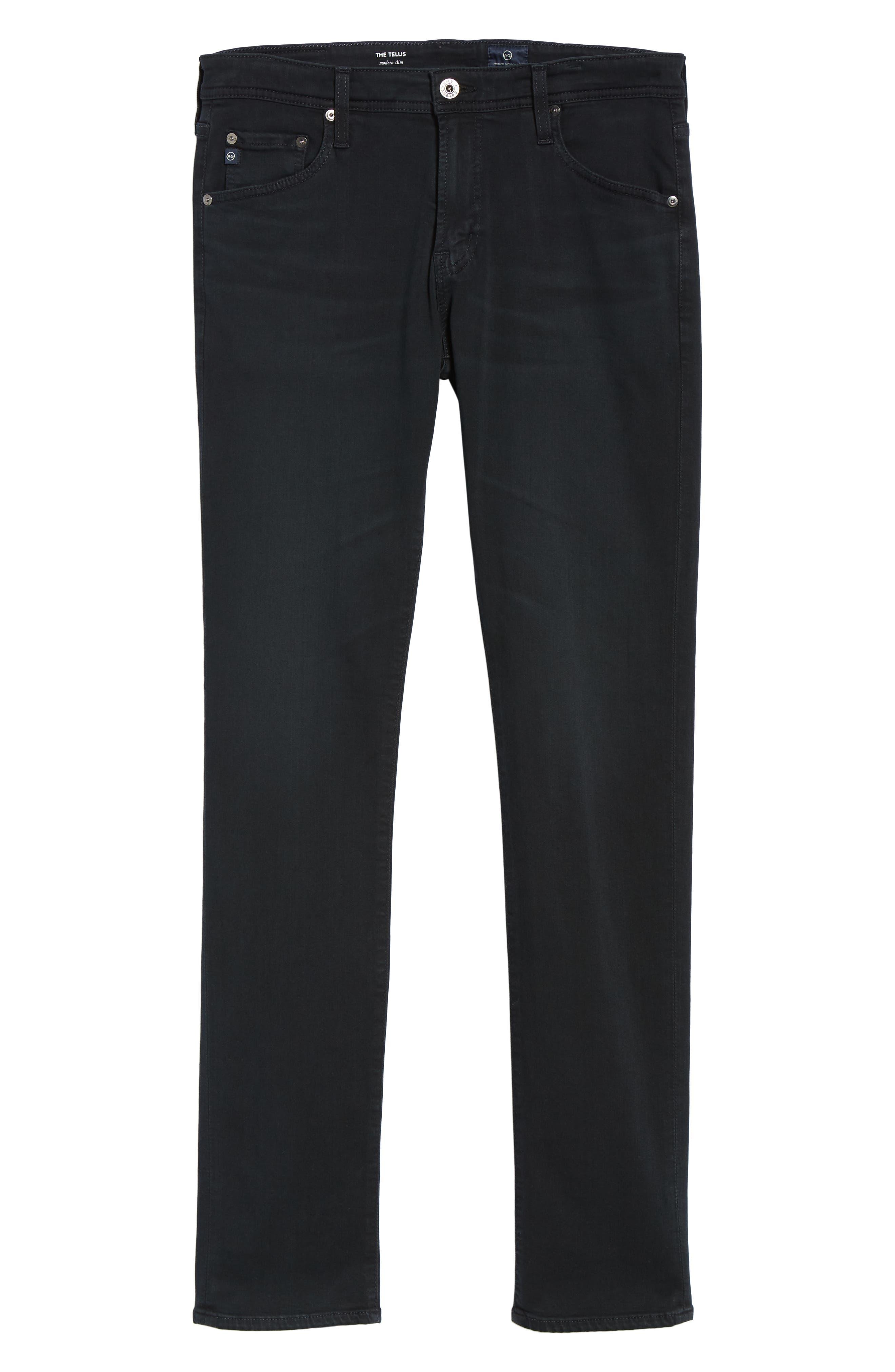 AG, Tellis Slim Fit Jeans, Alternate thumbnail 6, color, BIG SUR