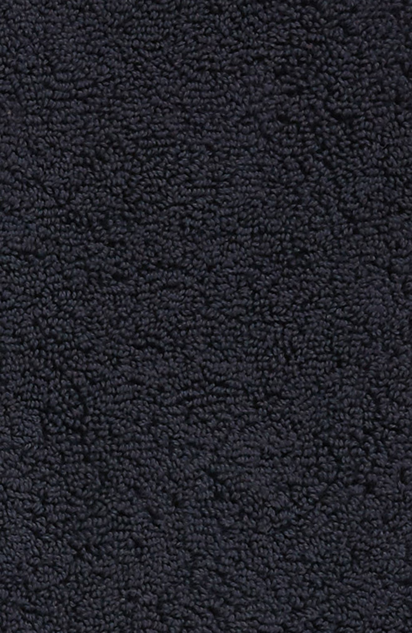 SFERRA, Bello Bath Mat, Alternate thumbnail 2, color, BLACK