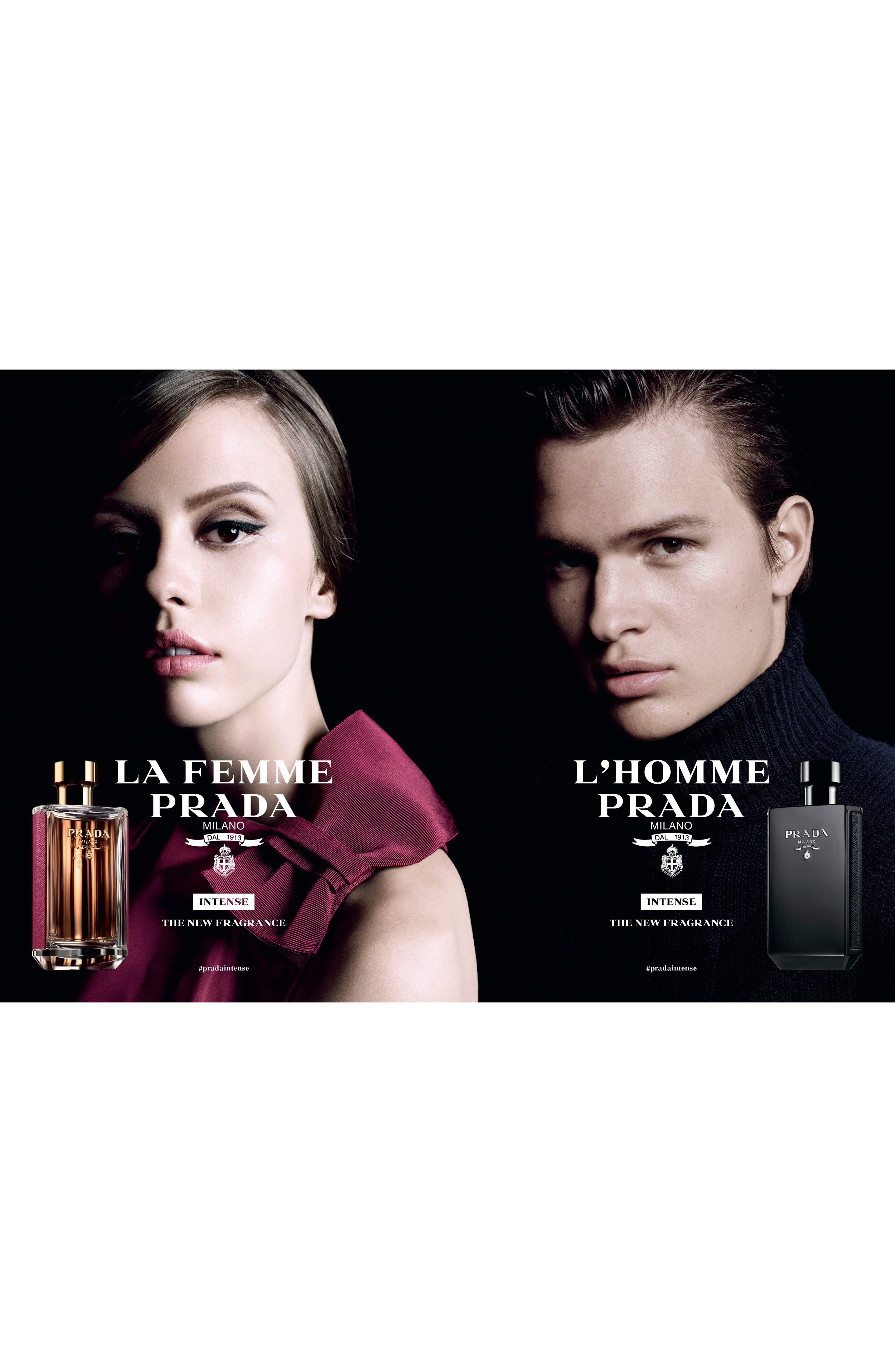 PRADA, La Femme Prada Eau de Parfum, Alternate thumbnail 7, color, NO COLOR