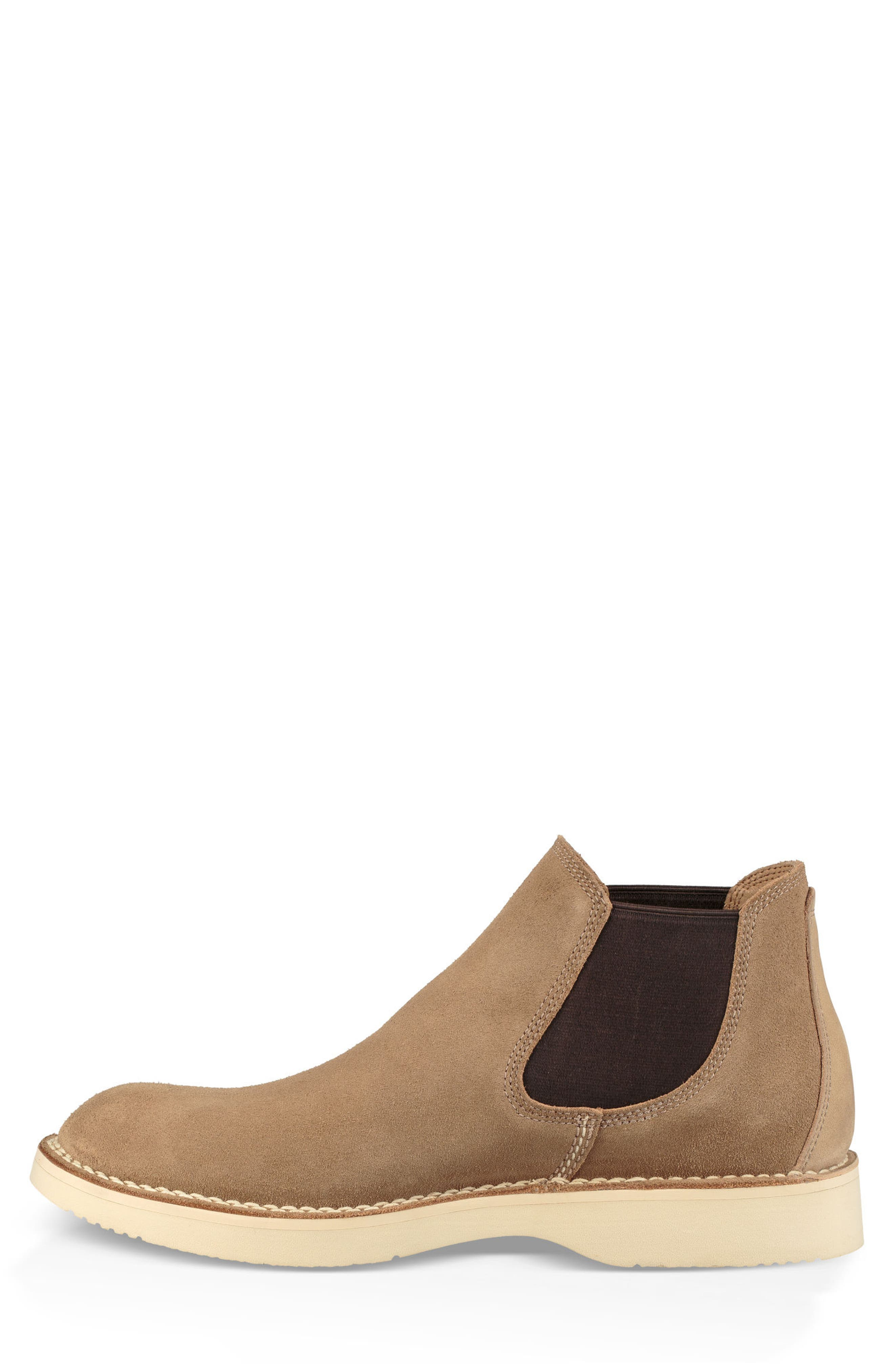 UGG<SUP>®</SUP>, Camino Chelsea Boot, Alternate thumbnail 3, color, DESERT TAN
