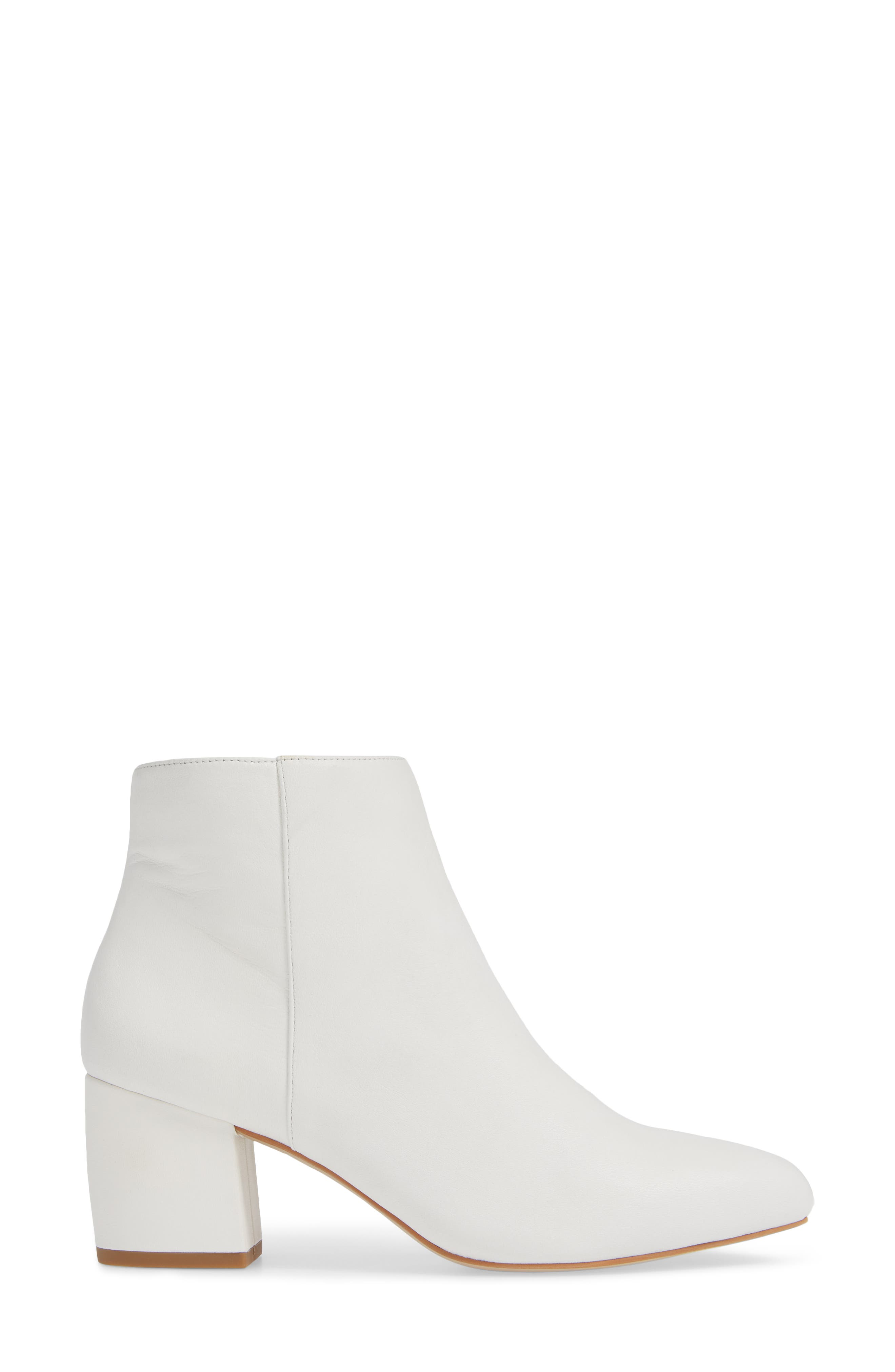 NIC+ZOE, Amorie Bootie, Alternate thumbnail 3, color, WHITE LEATHER
